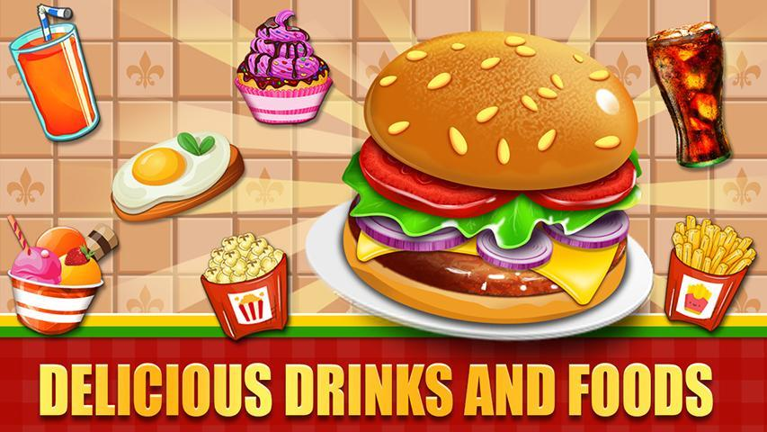 Fast Food  Cooking and Restaurant Game 1.1 Screenshot 2