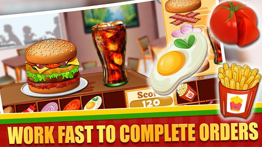 Fast Food  Cooking and Restaurant Game 1.1 Screenshot 3