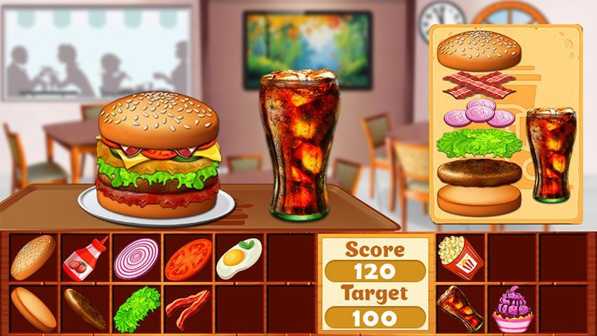 Fast Food  Cooking and Restaurant Game 1.1 Screenshot 4