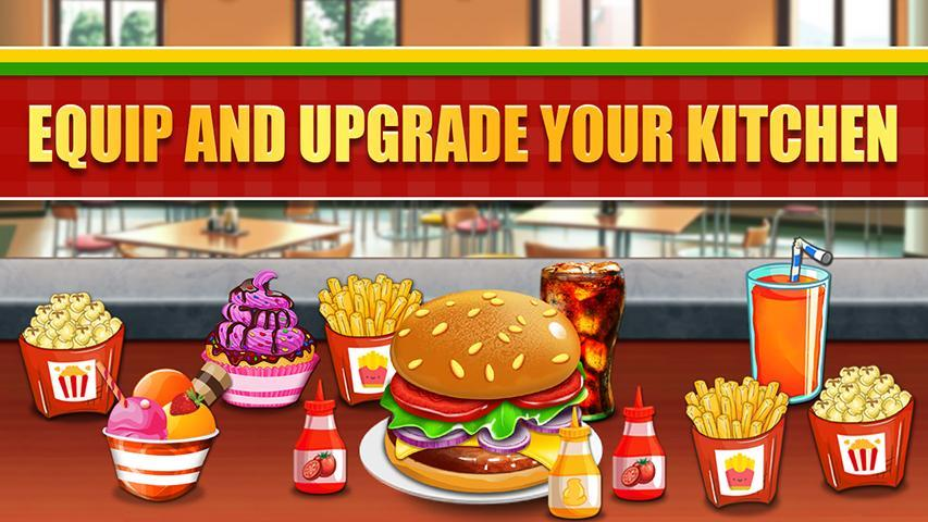 Fast Food  Cooking and Restaurant Game 1.1 Screenshot 6