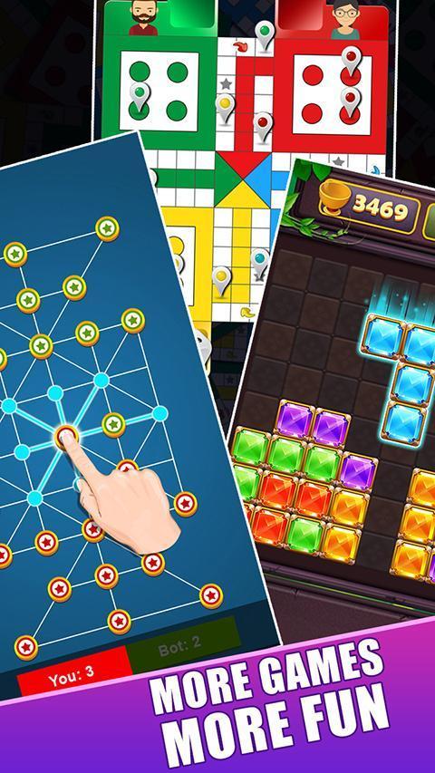 Ludo लूडो - New Ludo Online 2020 Star Dice Game 2.3 Screenshot 1