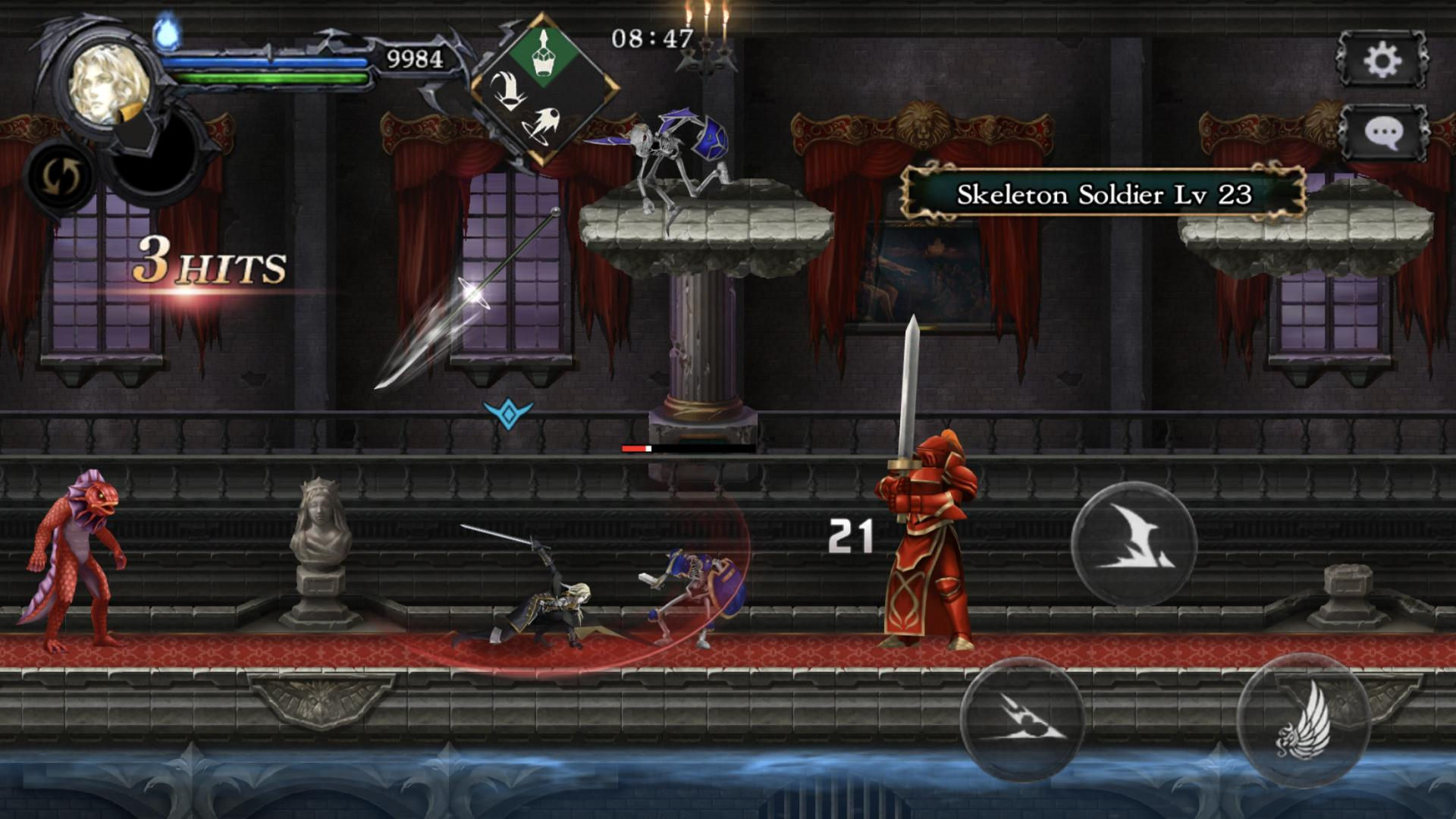 Castlevania Grimoire of Souls 1.1.4 Screenshot 2
