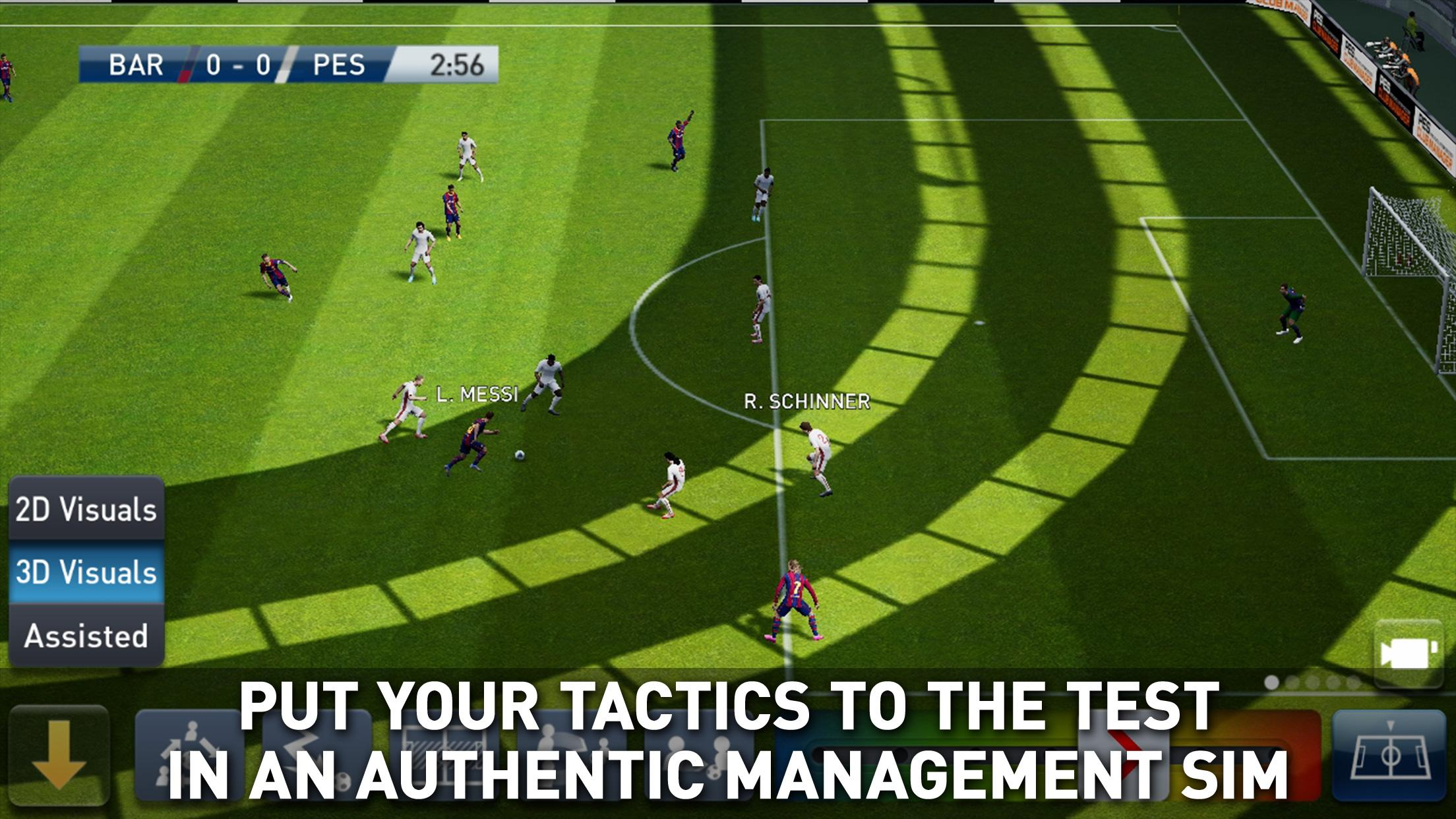 PES CLUB MANAGER 4.0.1 Screenshot 2