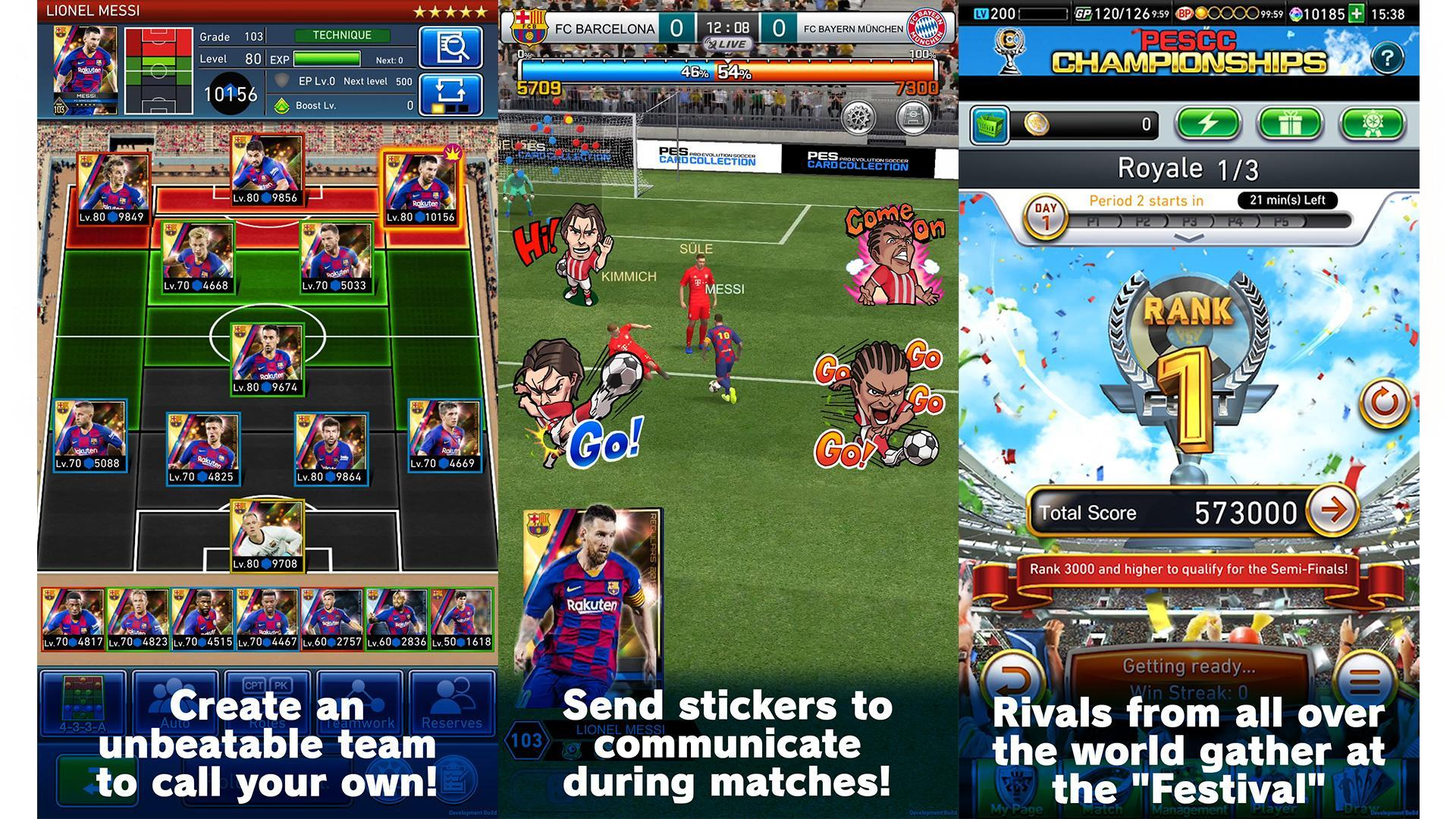 PES CARD COLLECTION 4.0.0 Screenshot 2