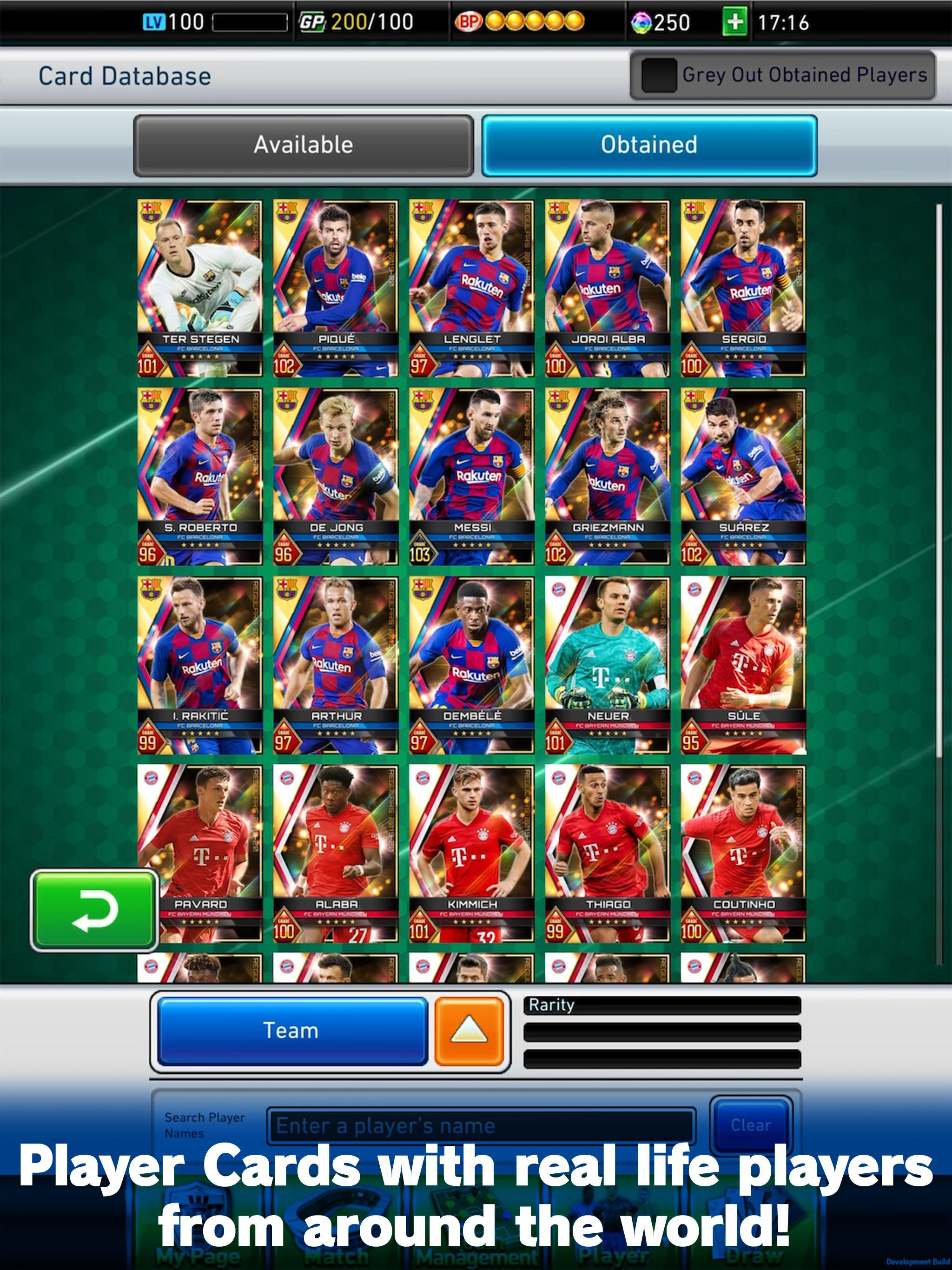 PES CARD COLLECTION 4.0.0 Screenshot 8
