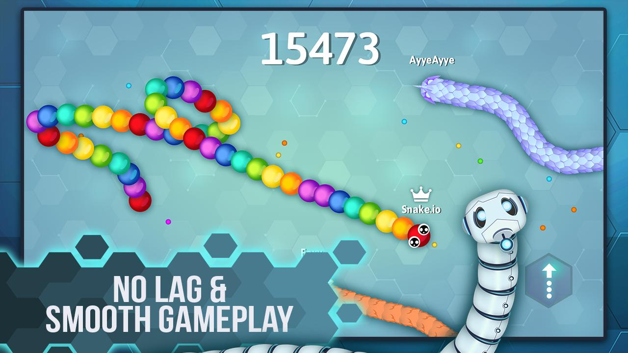 Snake.io - Fun Addicting Arcade Battle .io Games 1.16.07 Screenshot 2