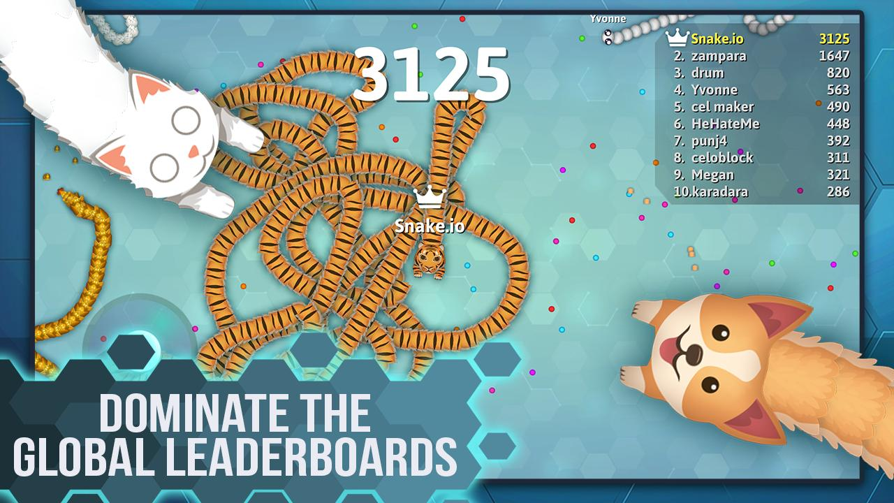 Snake.io - Fun Addicting Arcade Battle .io Games 1.16.07 Screenshot 4