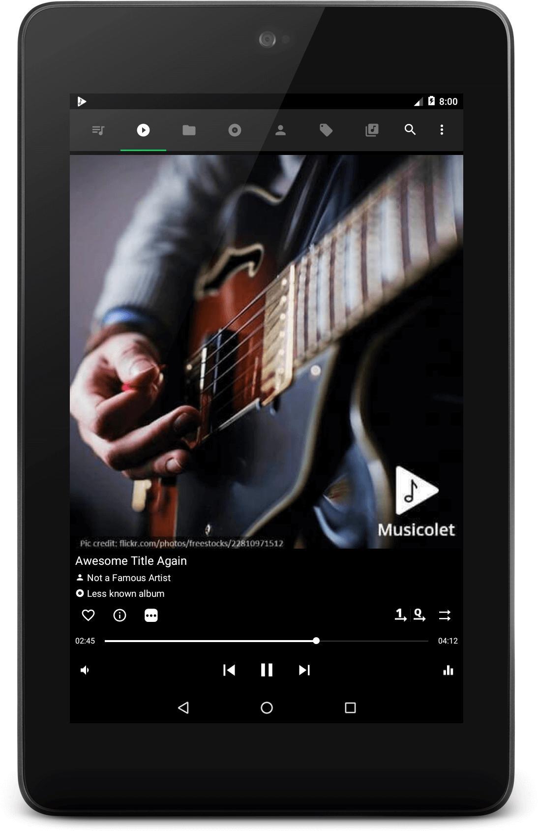 Musicolet Music Player [Free, No ads] 4.2.1 build182 Screenshot 12