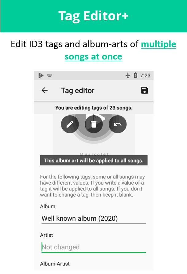 Musicolet Music Player [Free, No ads] 4.2.1 build182 Screenshot 5