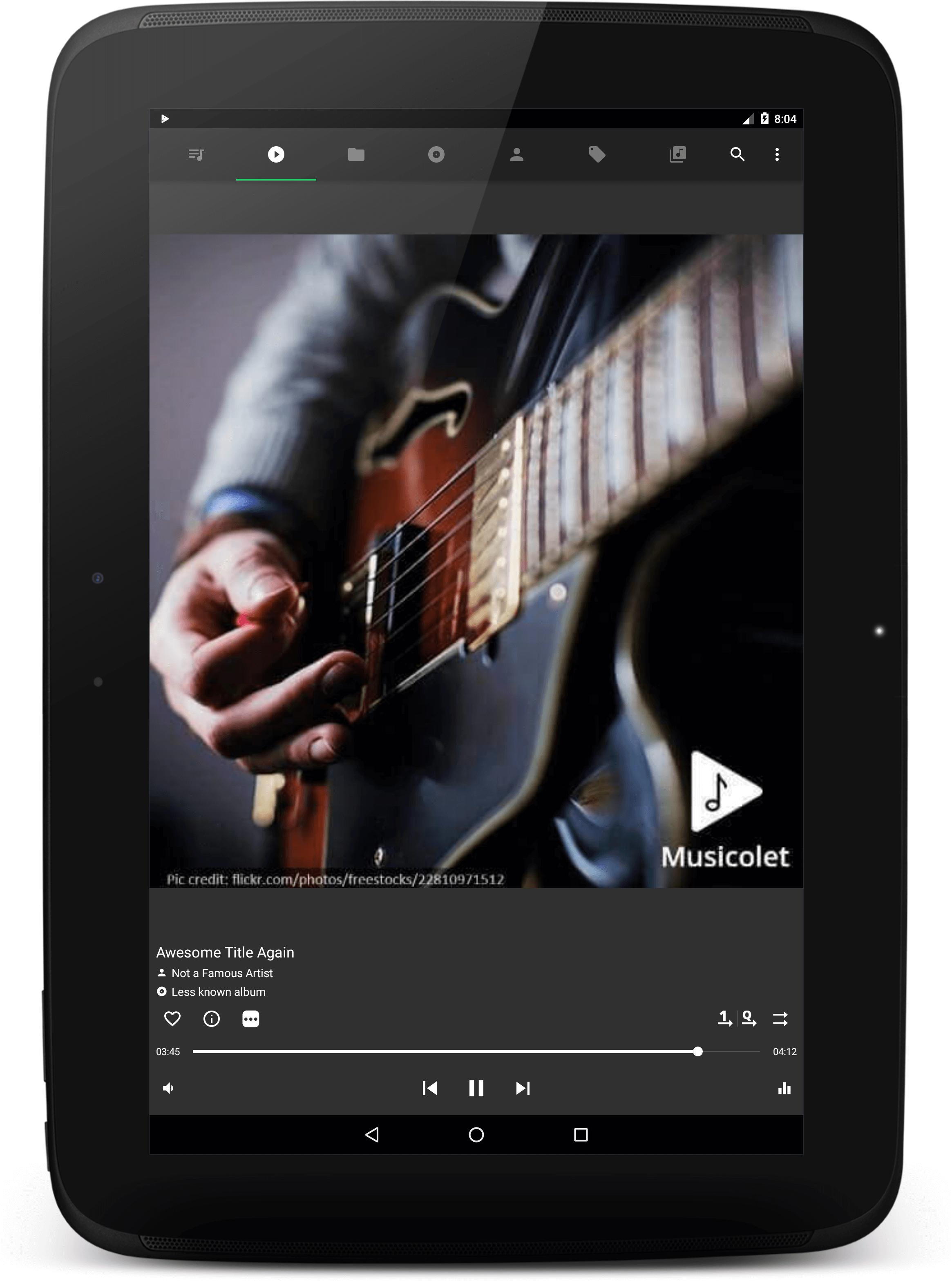 Musicolet Music Player [Free, No ads] 4.2.1 build182 Screenshot 9