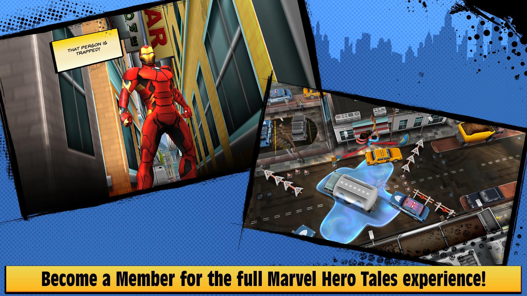 Marvel Hero Tales 1.4.1 Screenshot 1