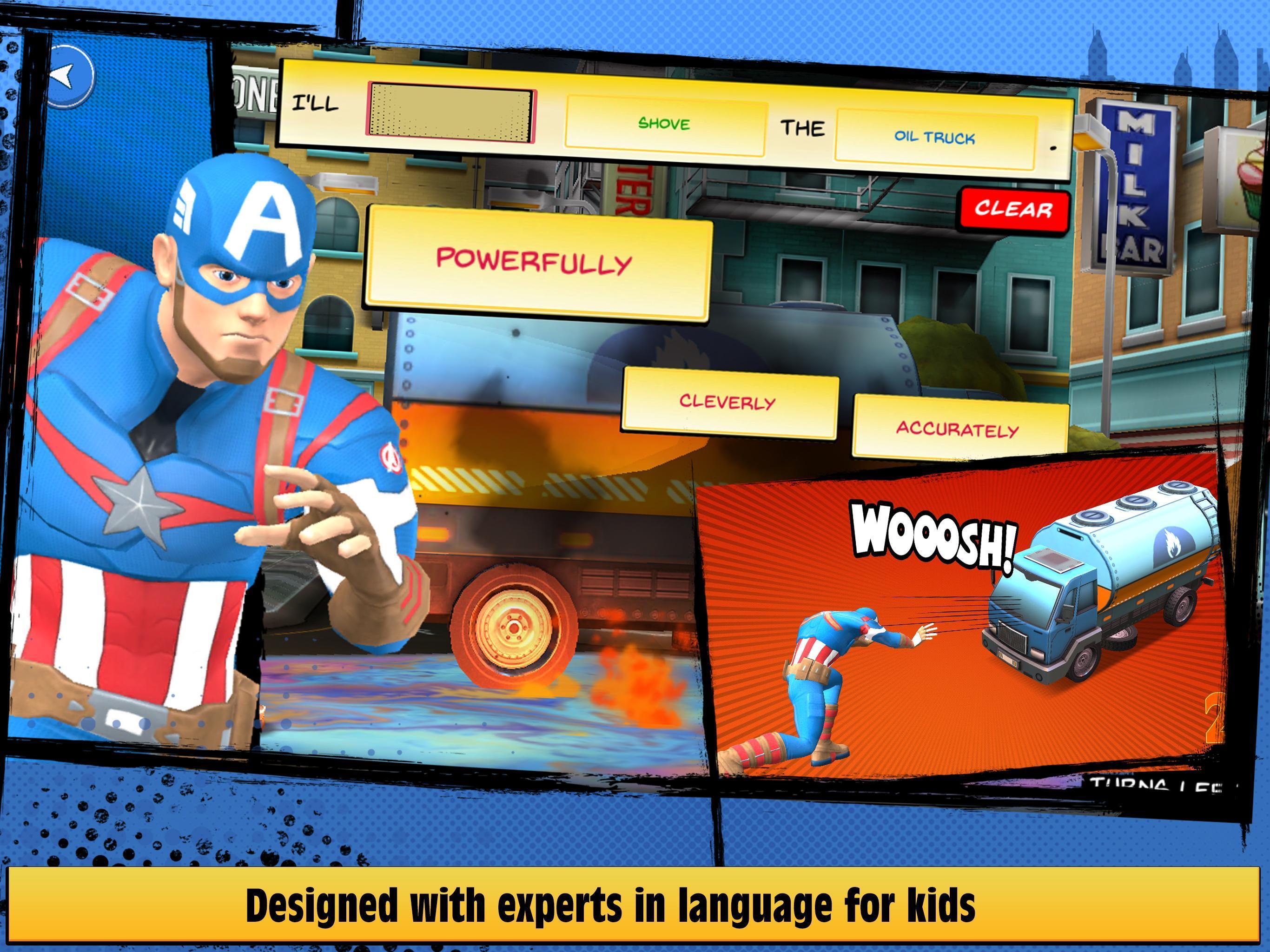 Marvel Hero Tales 1.4.1 Screenshot 11