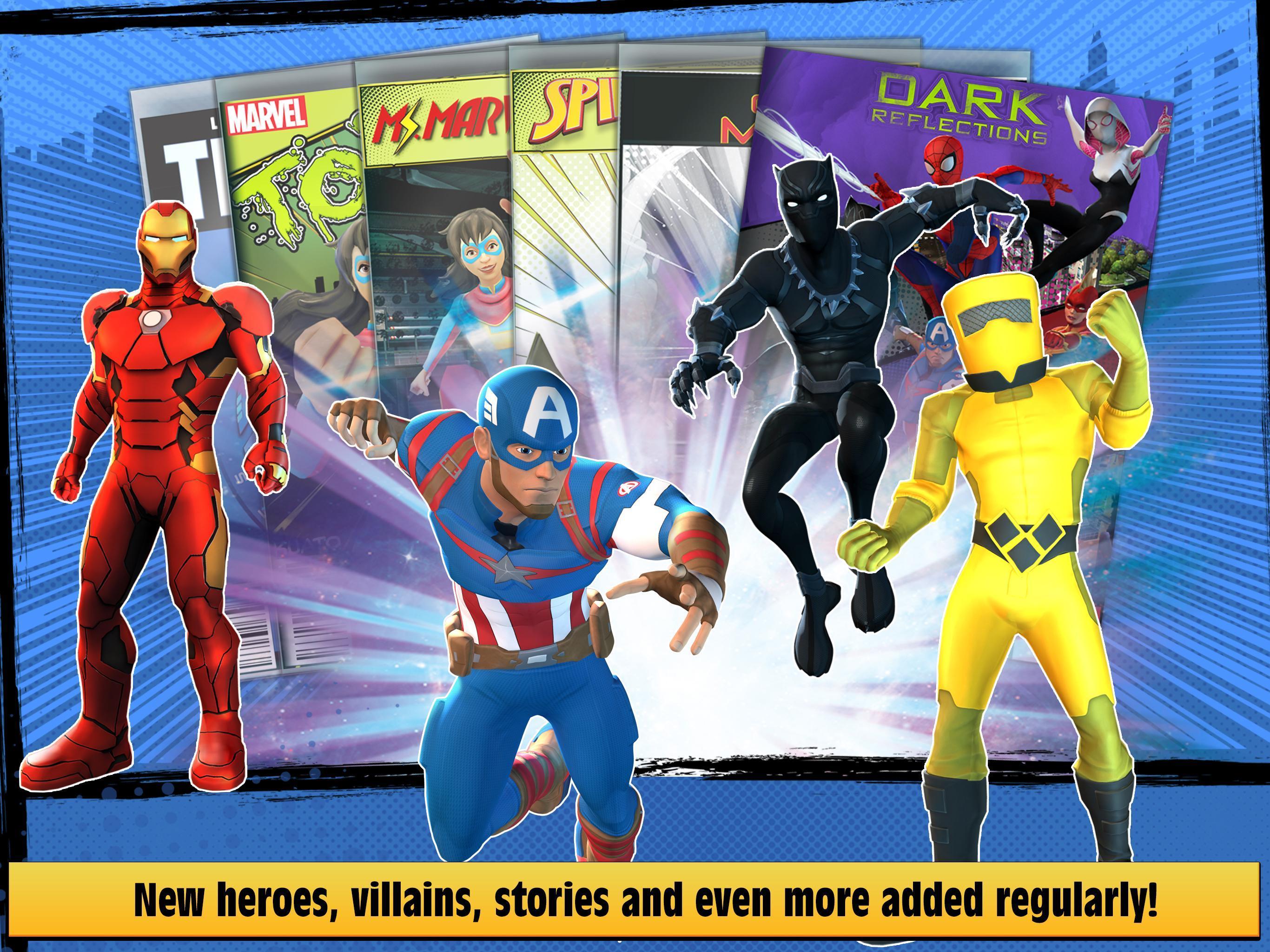 Marvel Hero Tales 1.4.1 Screenshot 12