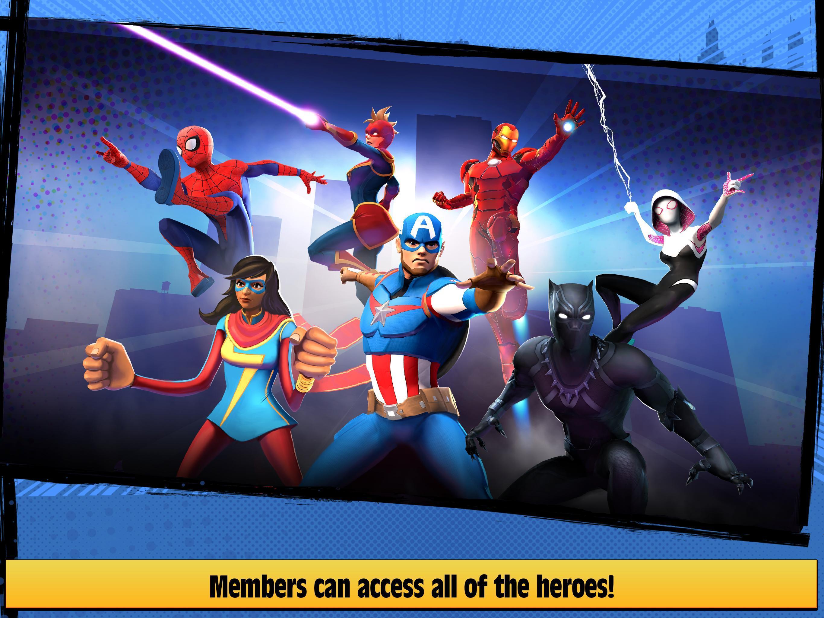 Marvel Hero Tales 1.4.1 Screenshot 20