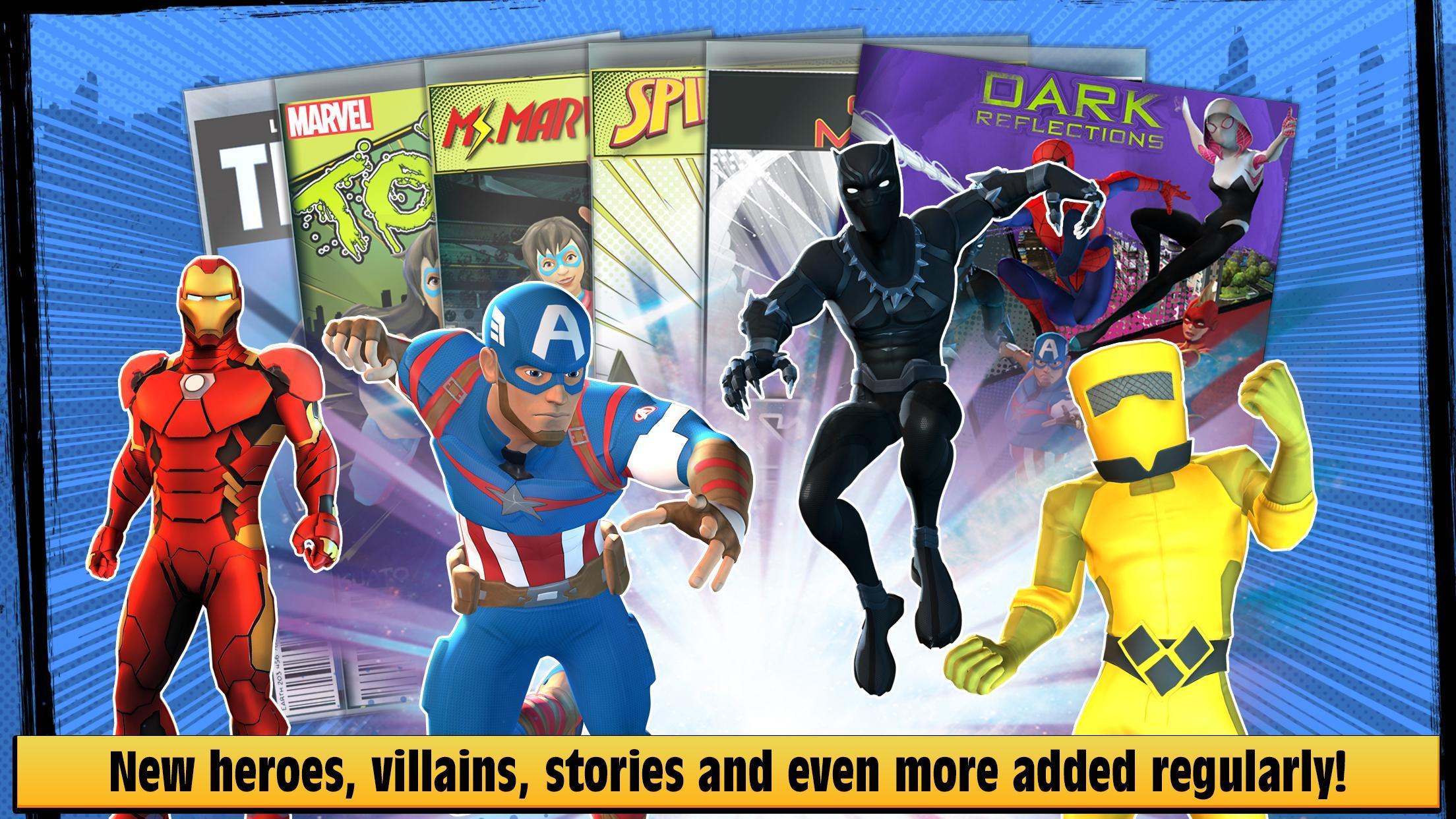 Marvel Hero Tales 1.4.1 Screenshot 5