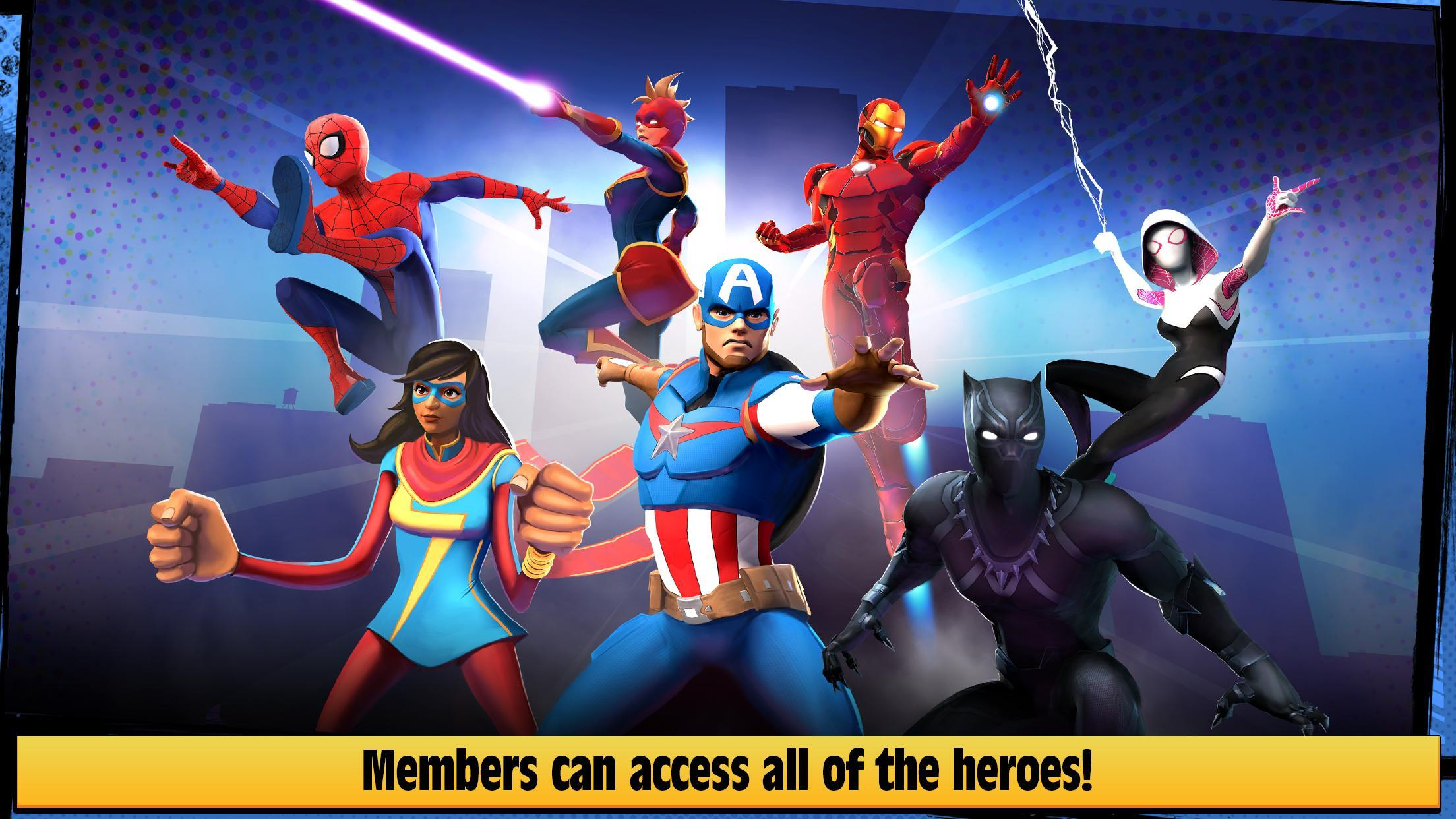 Marvel Hero Tales 1.4.1 Screenshot 7