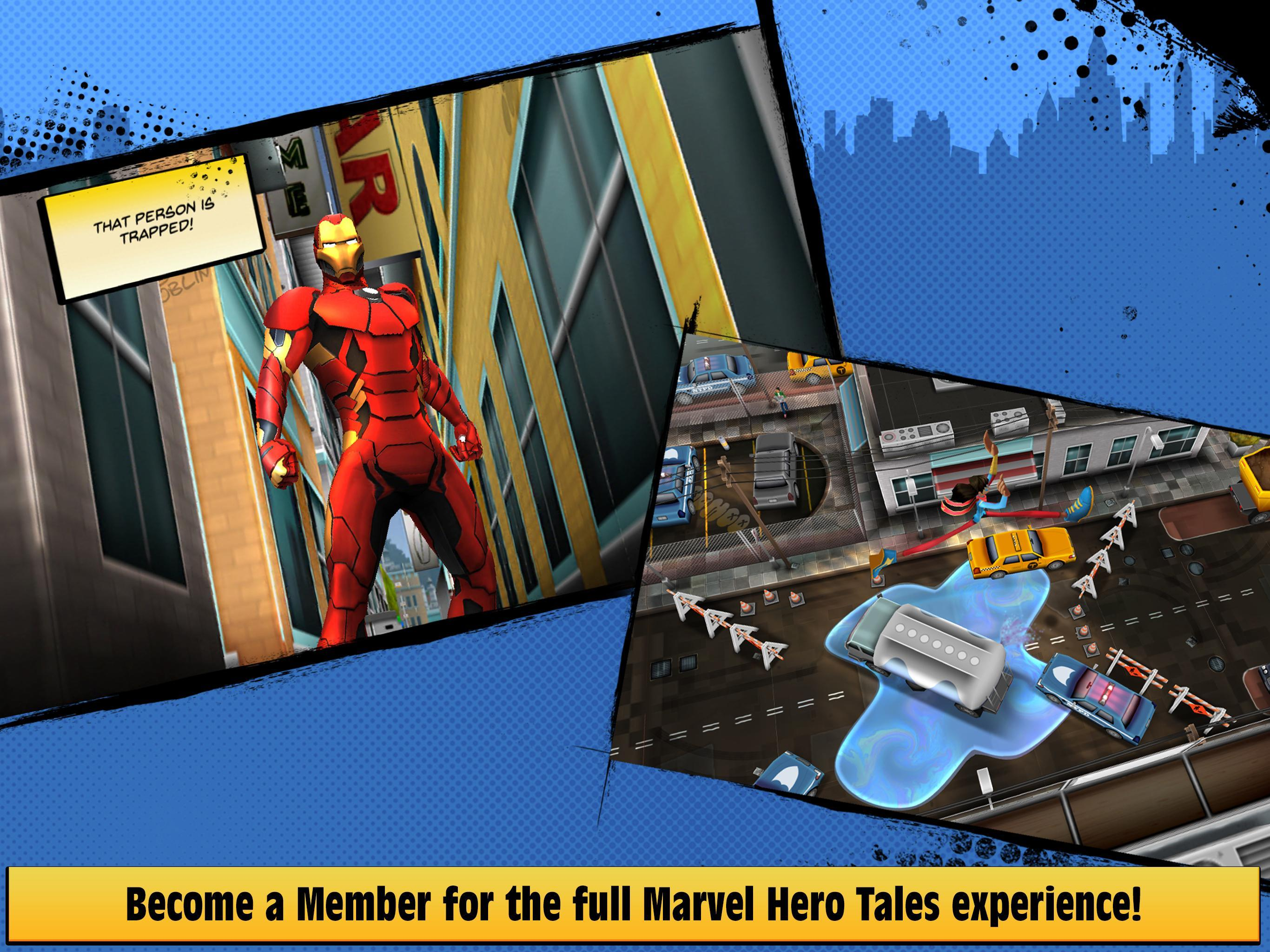 Marvel Hero Tales 1.4.1 Screenshot 8