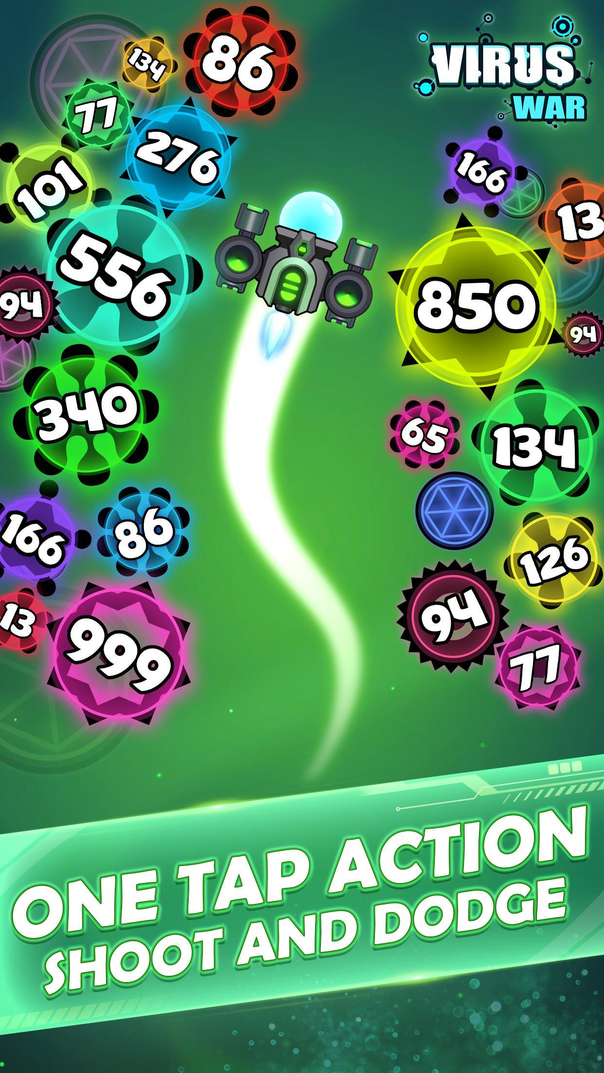 Virus War Space Shooting Game 1.7.9 Screenshot 4
