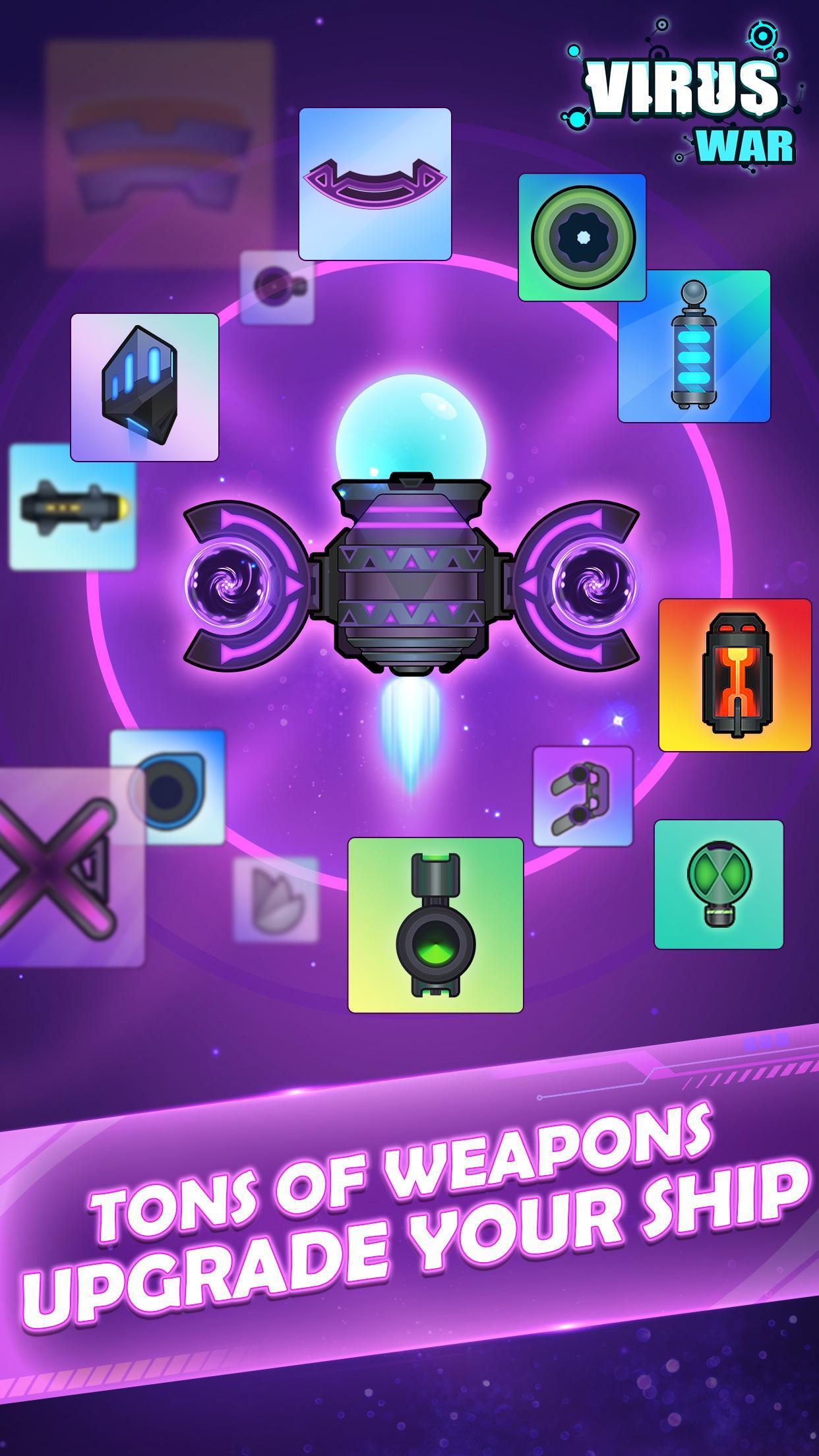 Virus War Space Shooting Game 1.7.9 Screenshot 7