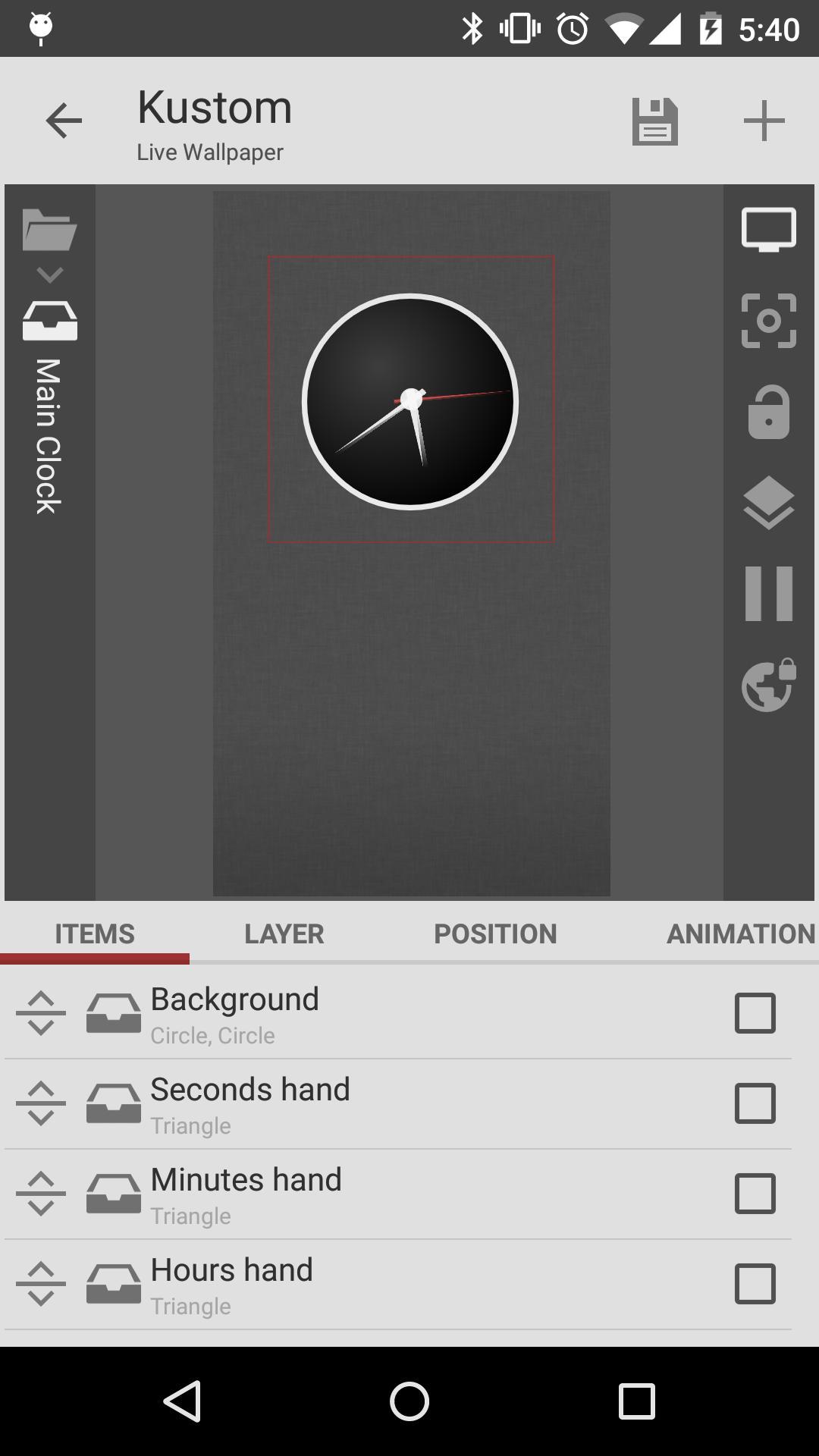 KLWP Live Wallpaper Maker 3.43b931910 Screenshot 3