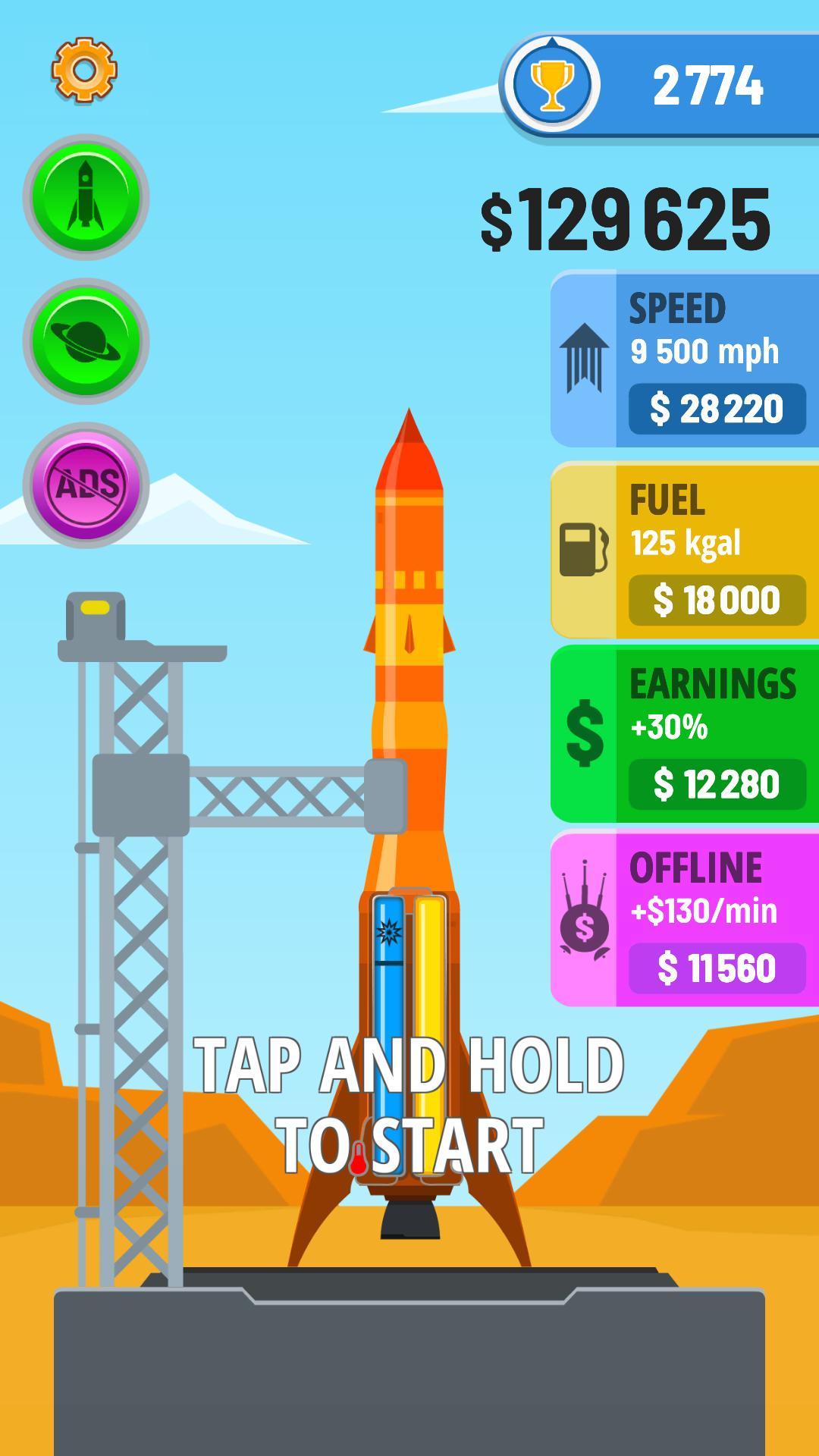 Rocket Sky! 1.4.1 Screenshot 1