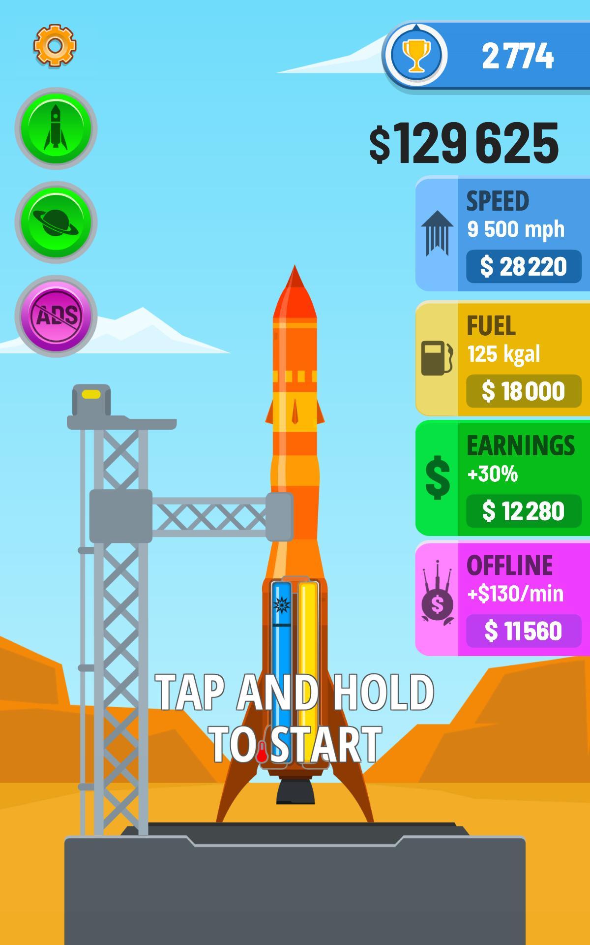 Rocket Sky! 1.4.1 Screenshot 11