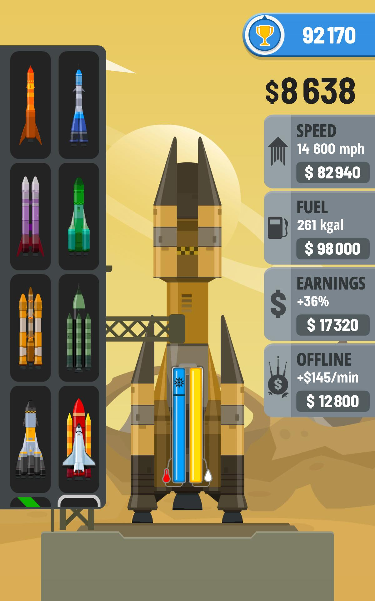 Rocket Sky! 1.4.1 Screenshot 12