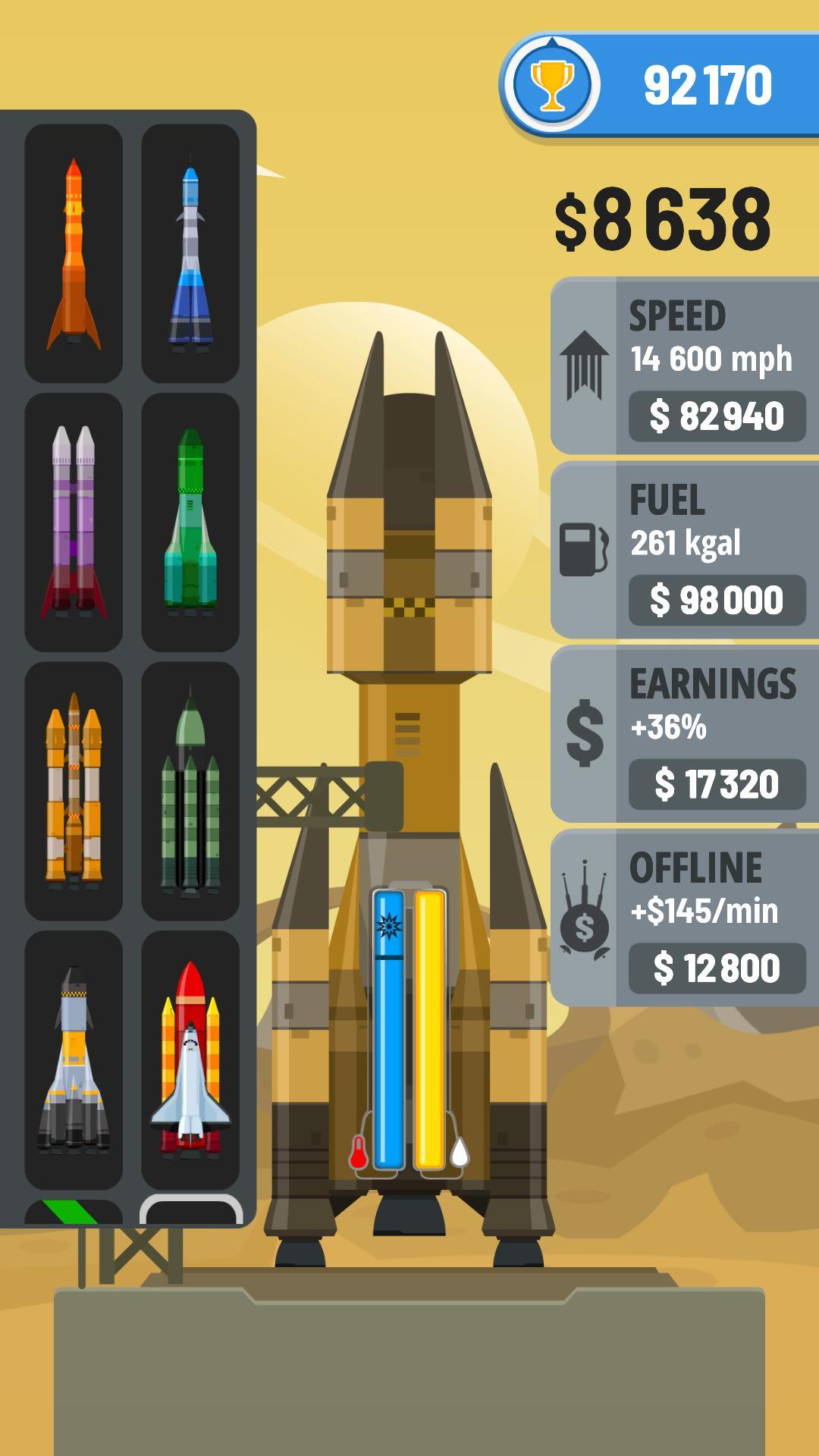Rocket Sky! 1.4.1 Screenshot 2