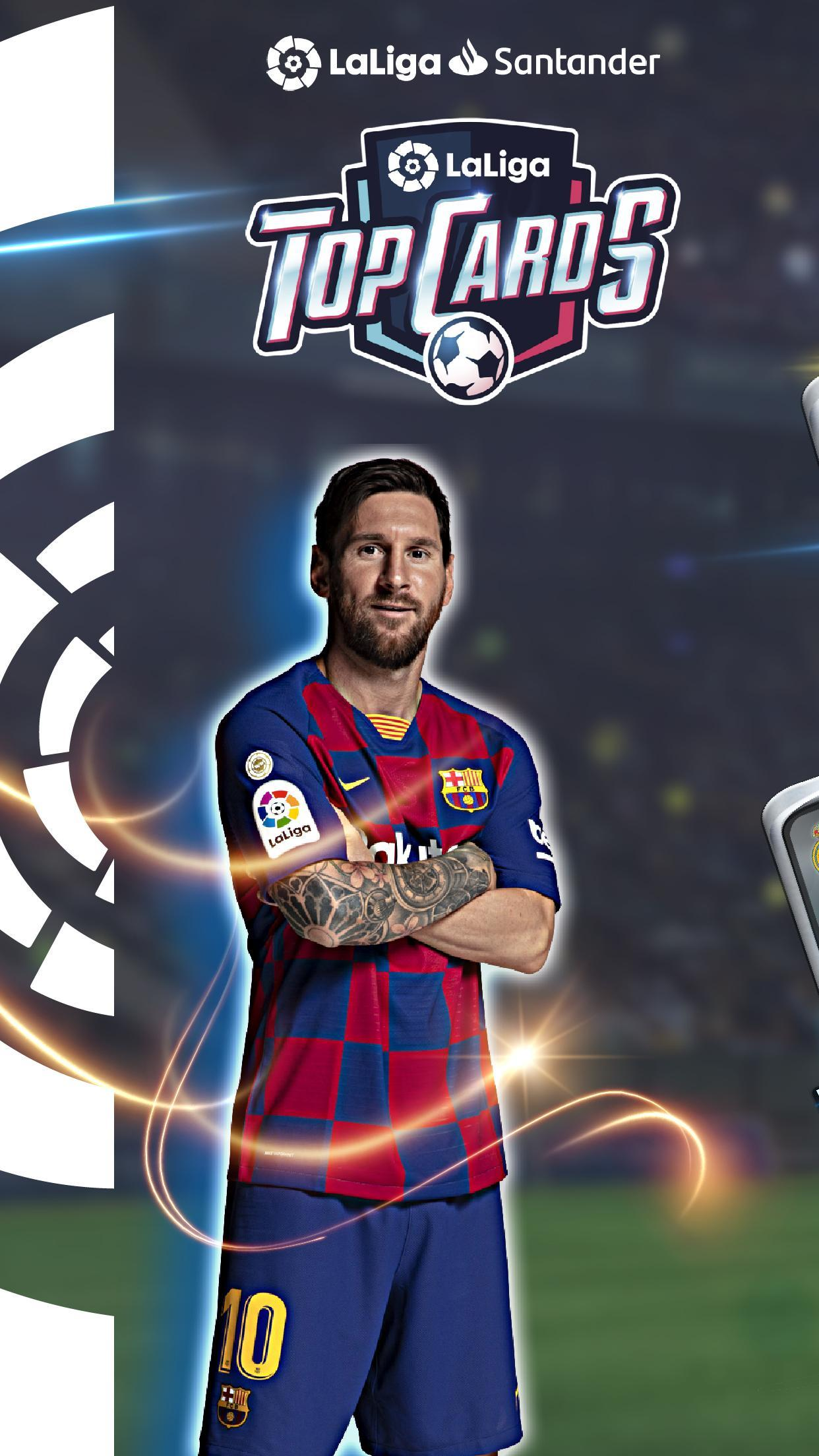 LaLiga Top Cards 2020 - Soccer Card Battle Game 4.1.4 Screenshot 1