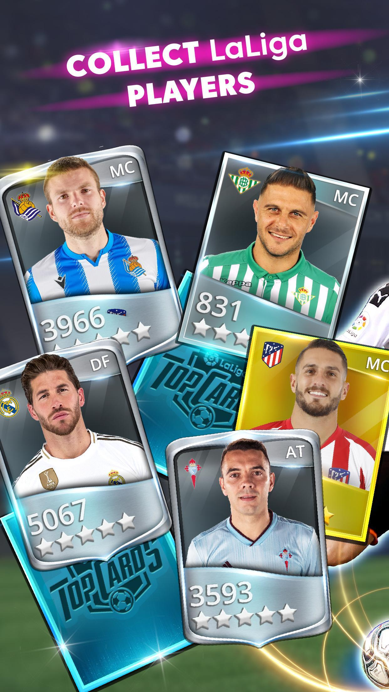 LaLiga Top Cards 2020 - Soccer Card Battle Game 4.1.4 Screenshot 2