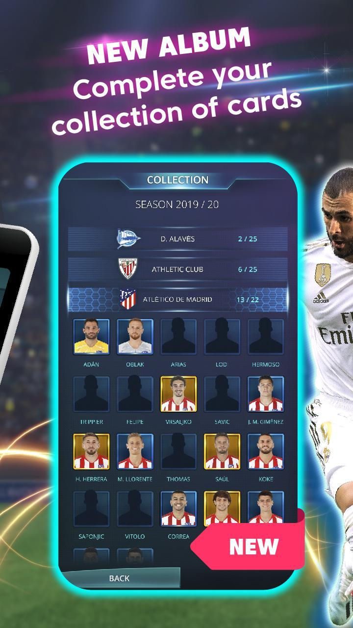 LaLiga Top Cards 2020 - Soccer Card Battle Game 4.1.4 Screenshot 20