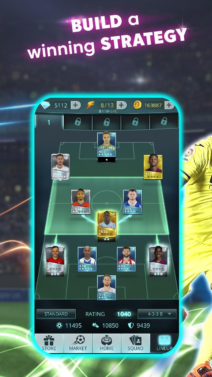 LaLiga Top Cards 2020 - Soccer Card Battle Game 4.1.4 Screenshot 22