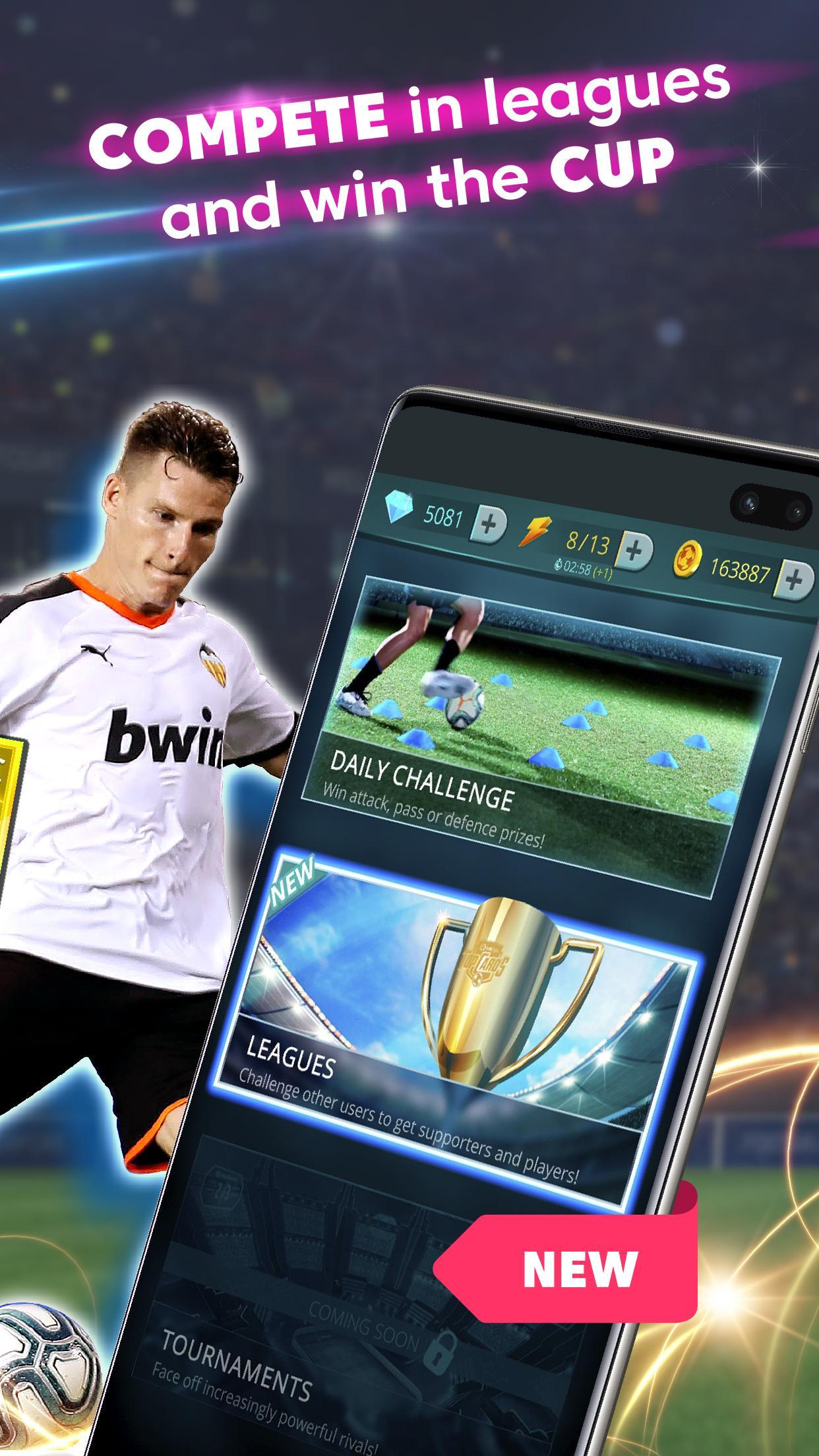LaLiga Top Cards 2020 - Soccer Card Battle Game 4.1.4 Screenshot 3