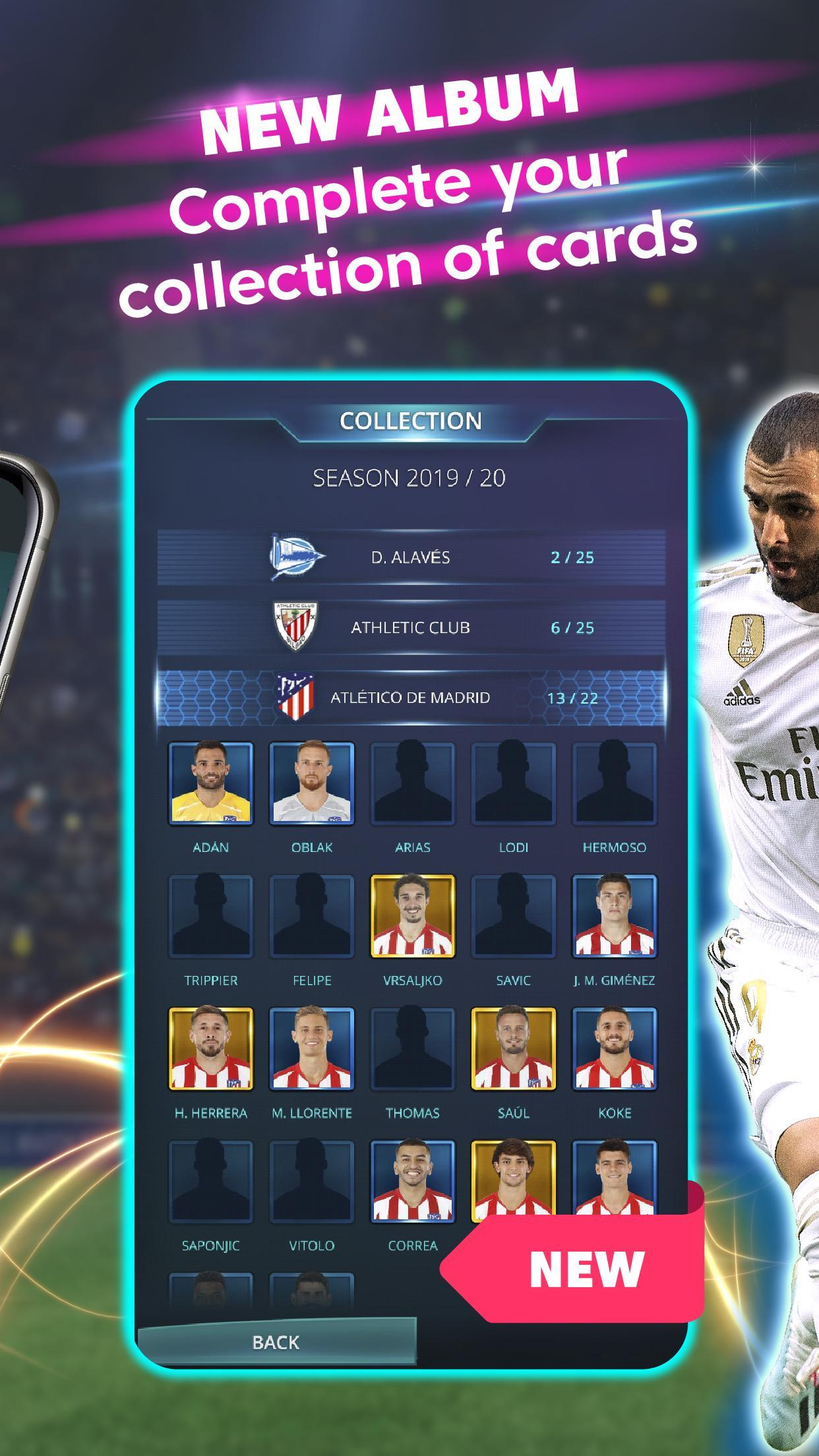 LaLiga Top Cards 2020 - Soccer Card Battle Game 4.1.4 Screenshot 4