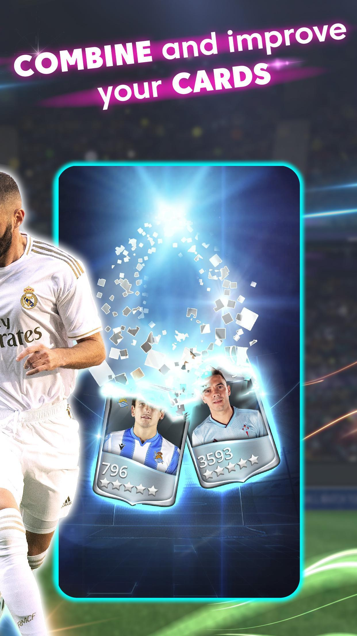 LaLiga Top Cards 2020 - Soccer Card Battle Game 4.1.4 Screenshot 5