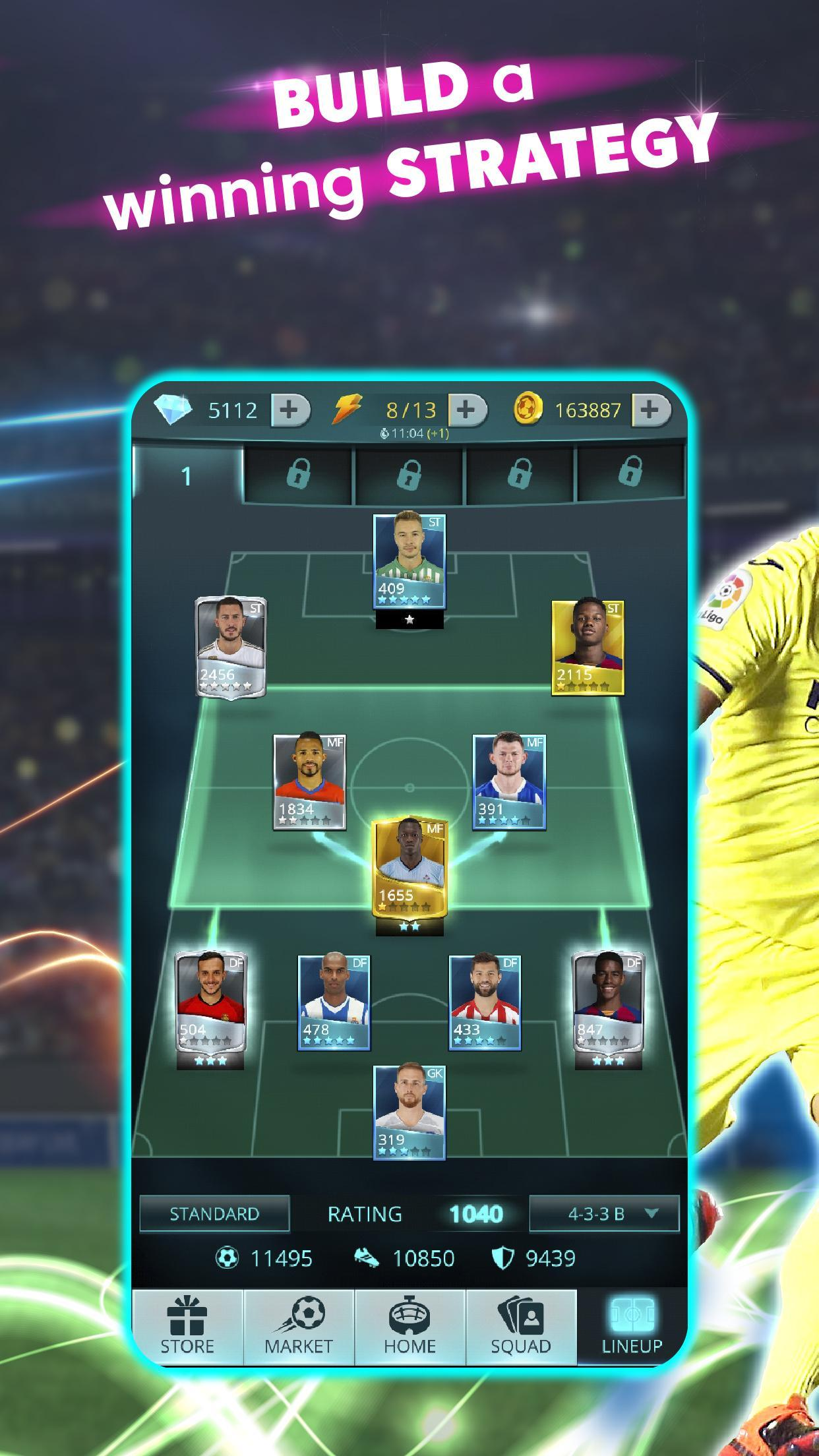 LaLiga Top Cards 2020 - Soccer Card Battle Game 4.1.4 Screenshot 6