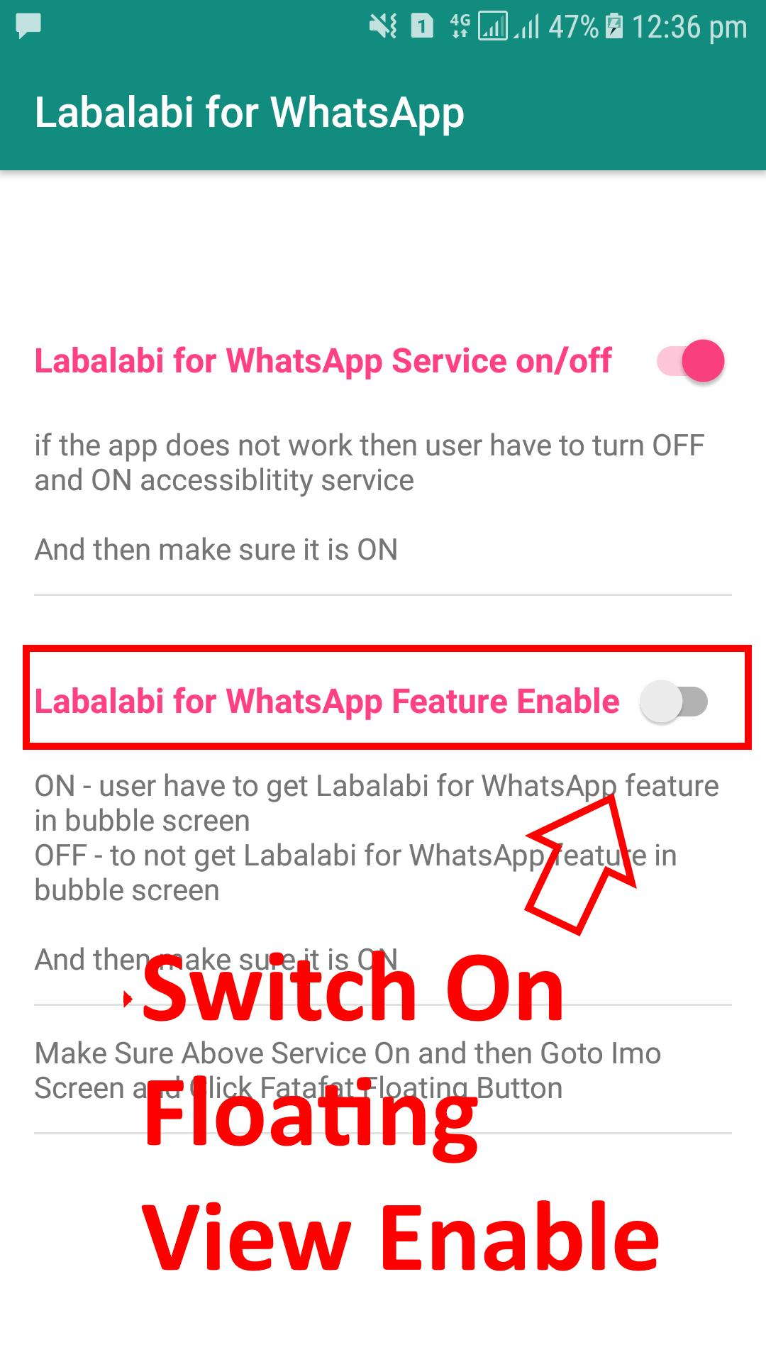 Labalabi For Whatsapp 2.0 Screenshot 1