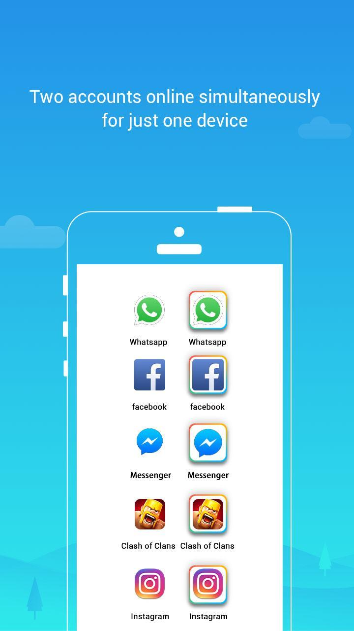 Parallel Space Lite-Dual App 4.0.9035 Screenshot 1
