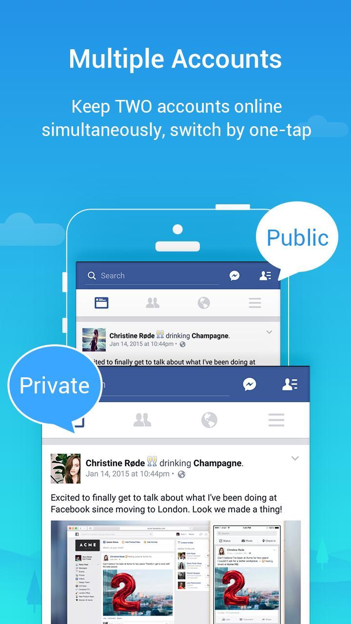 Parallel Space Lite-Dual App 4.0.9035 Screenshot 2