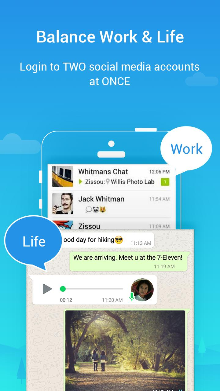 Parallel Space Lite-Dual App 4.0.9035 Screenshot 3