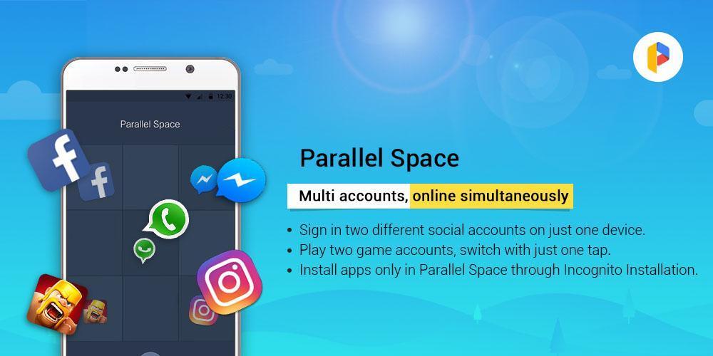 Parallel Space Lite-Dual App 4.0.9035 Screenshot 5