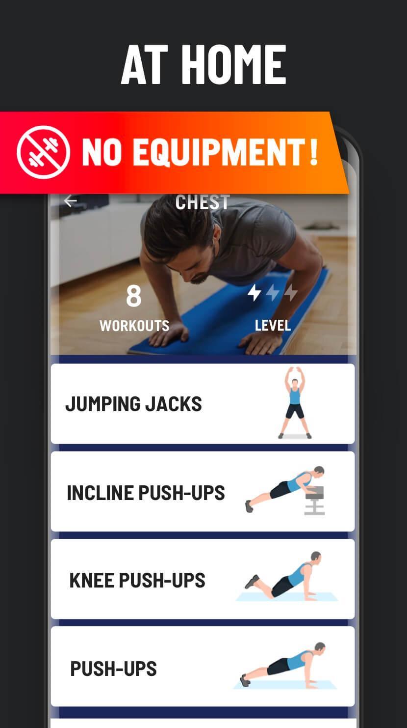 Home Workout No Equipment 1.1.2 Screenshot 6