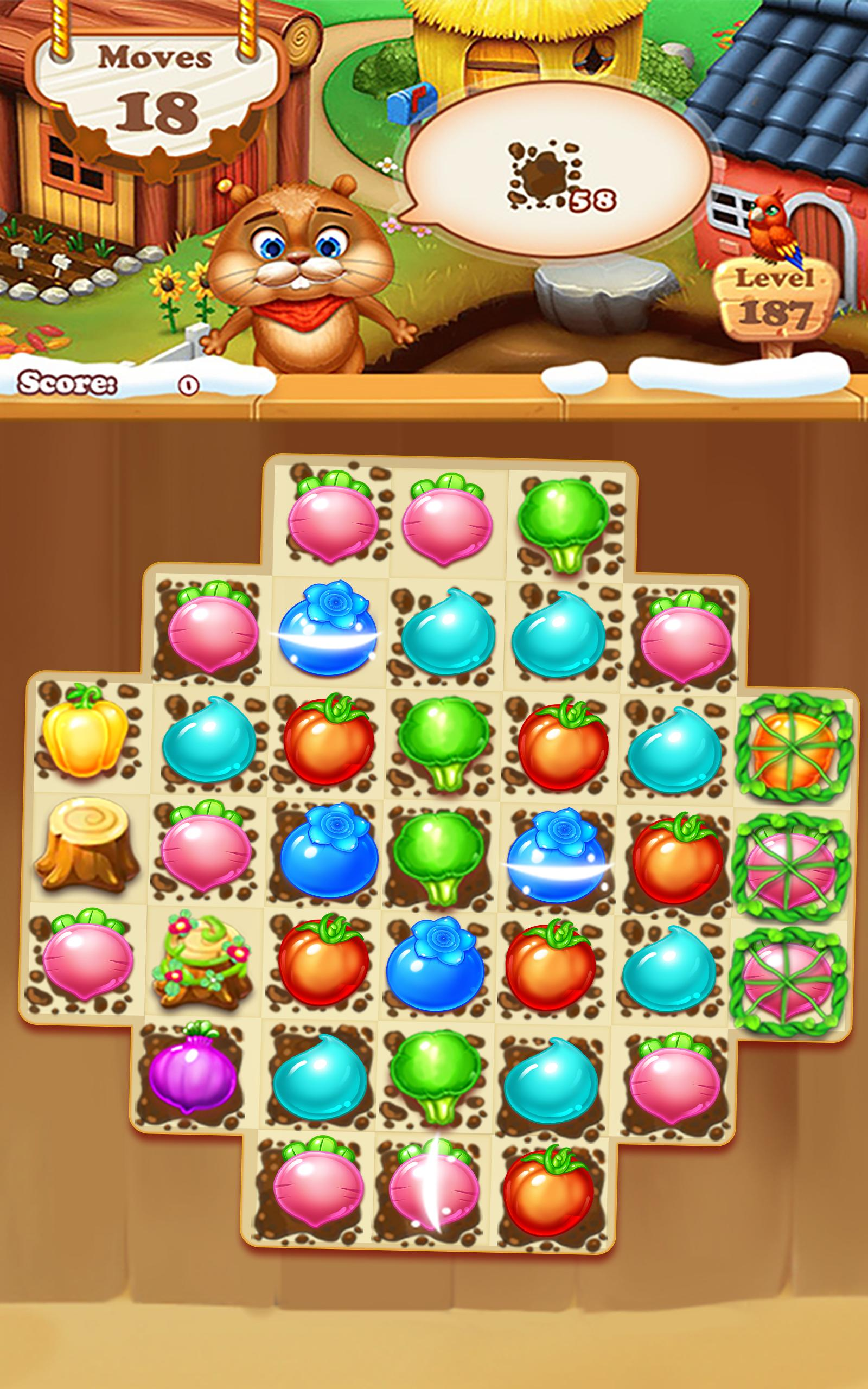 Farm Harvest 3 Match 3 Game 3.7.0 Screenshot 13