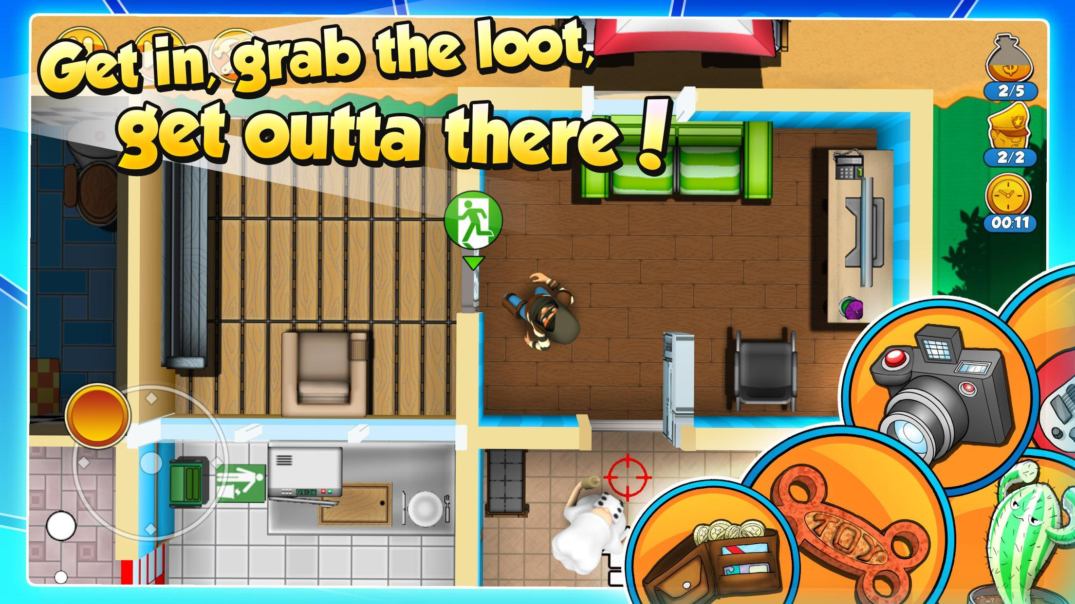 Robbery Bob 2 Double Trouble 1.6.8.10 Screenshot 3
