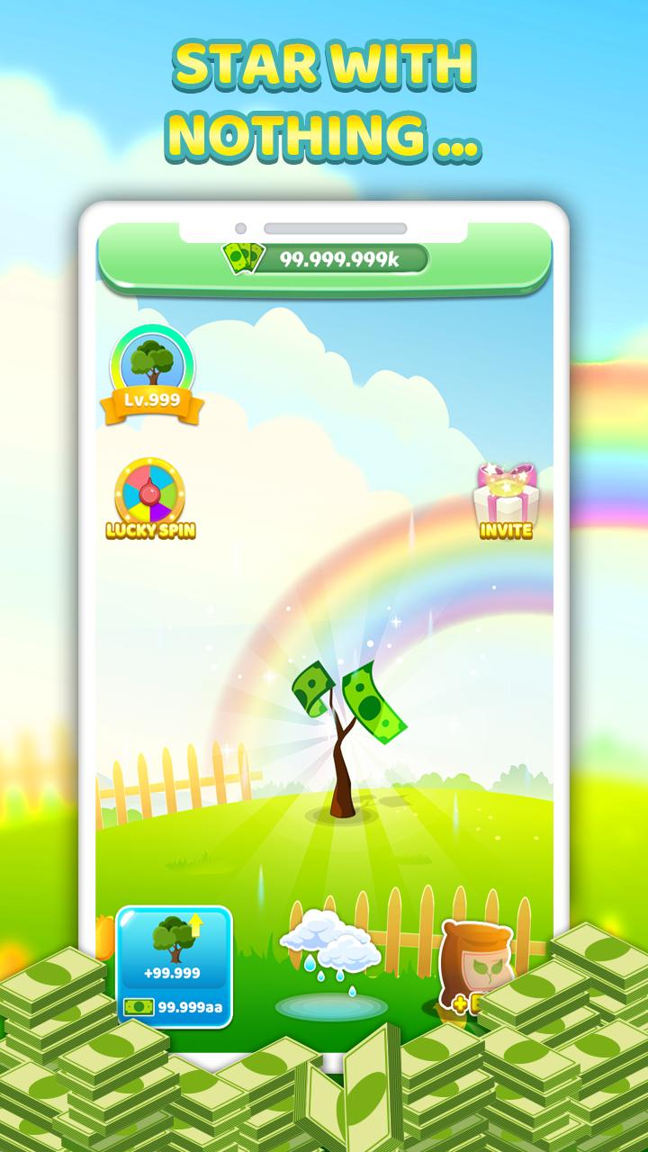 Tree For Money - Tap to Go and Grow 1.0.5 Screenshot 1