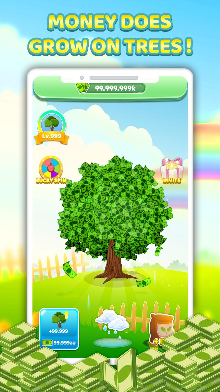 Tree For Money - Tap to Go and Grow 1.0.5 Screenshot 2