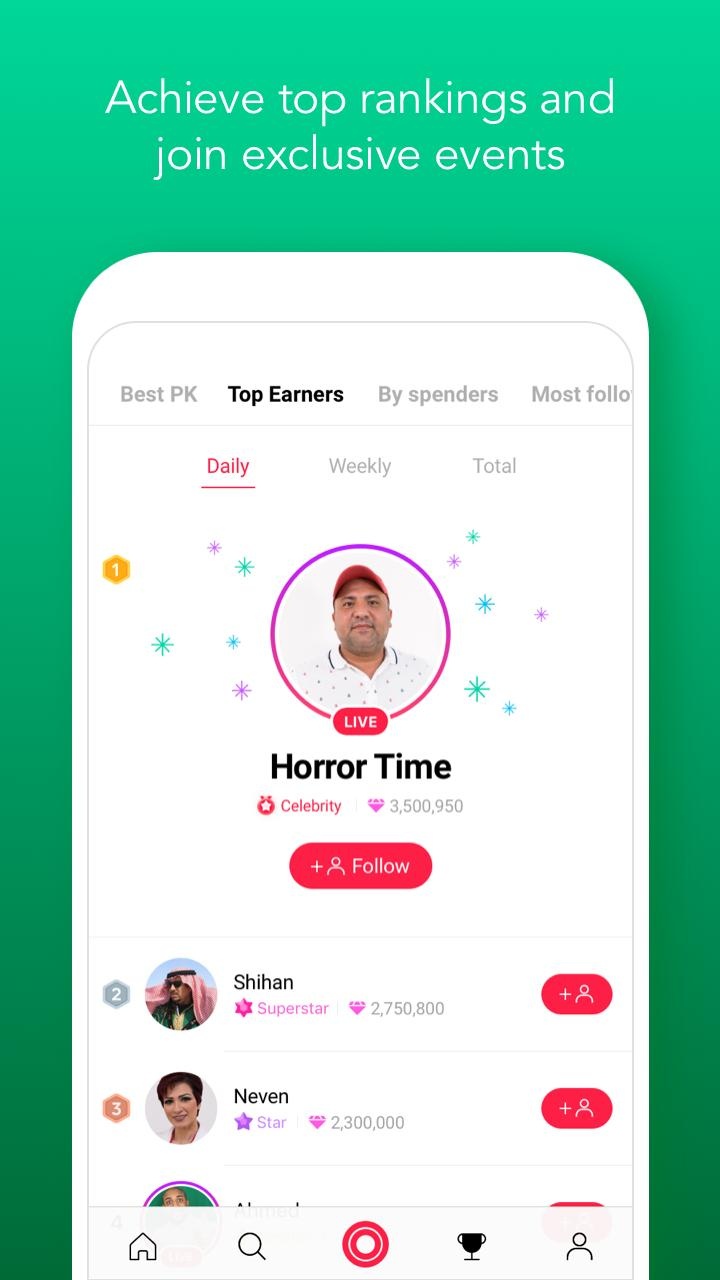 LINE LIVE Broadcast your life 2.5.3 Screenshot 5