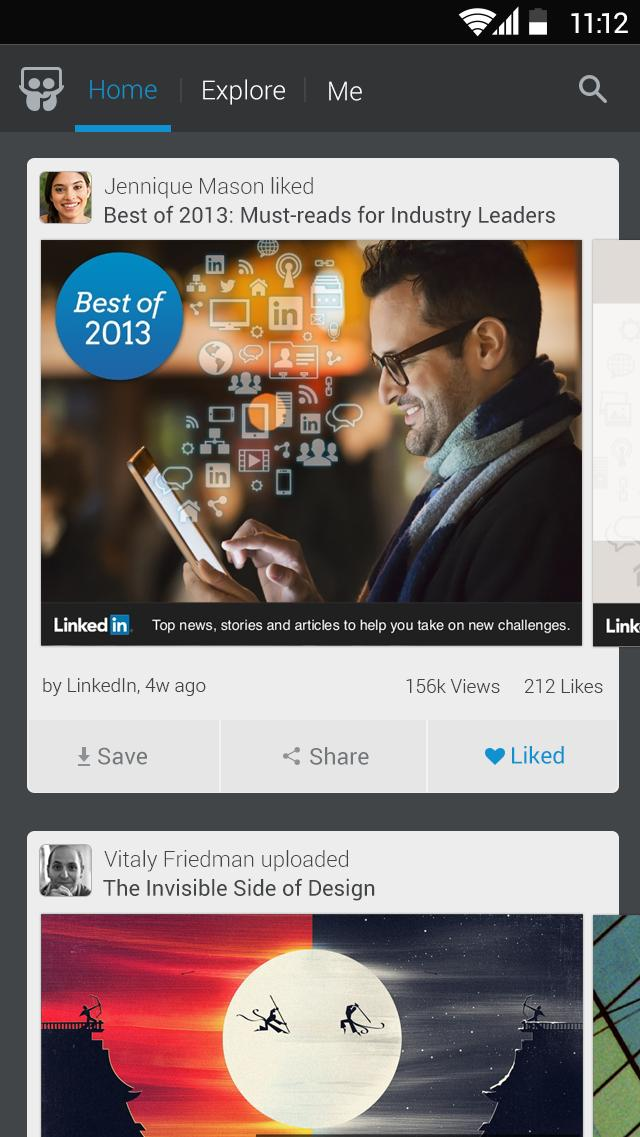 LinkedIn SlideShare 1.6.8 Screenshot 1