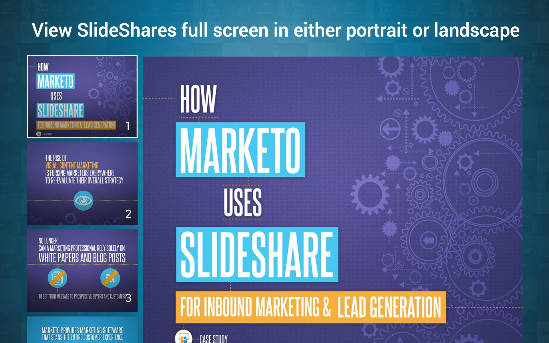 LinkedIn SlideShare 1.6.8 Screenshot 10
