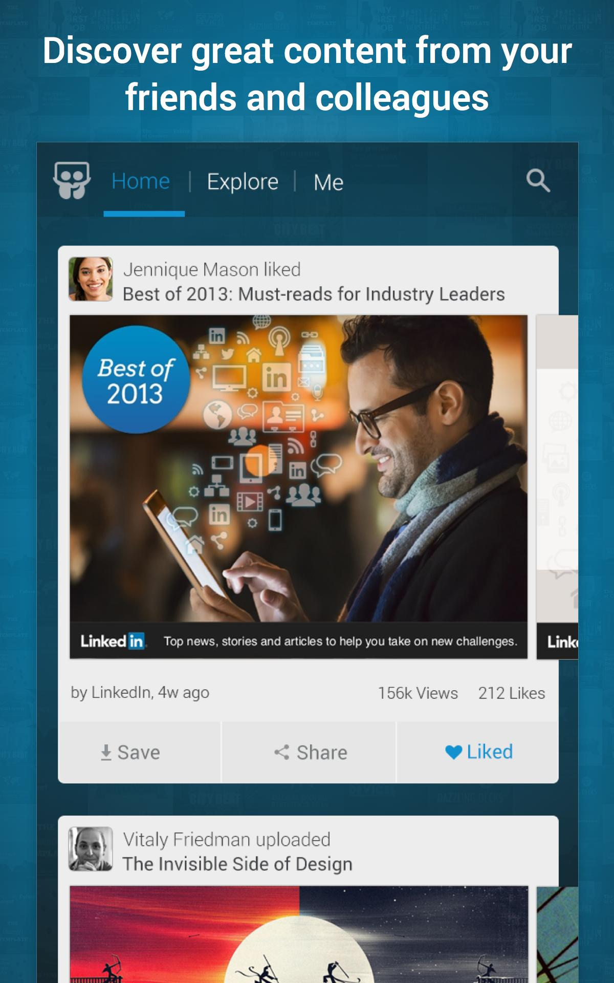 LinkedIn SlideShare 1.6.8 Screenshot 11